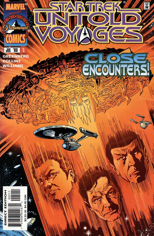 Star Trek: Untold Voyages issue 5 - Page 1