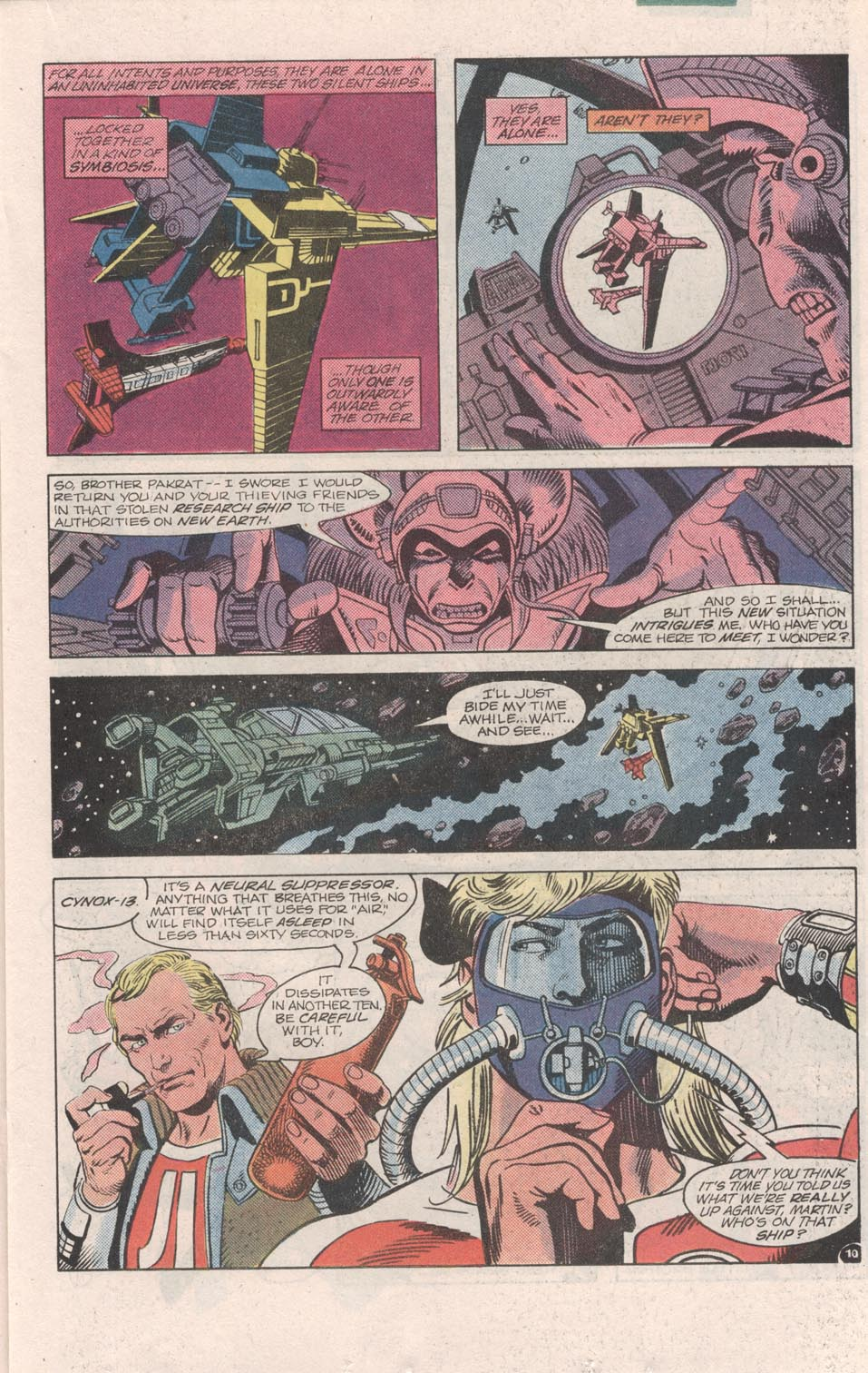Read online Atari Force (1984) comic -  Issue #6 - 12