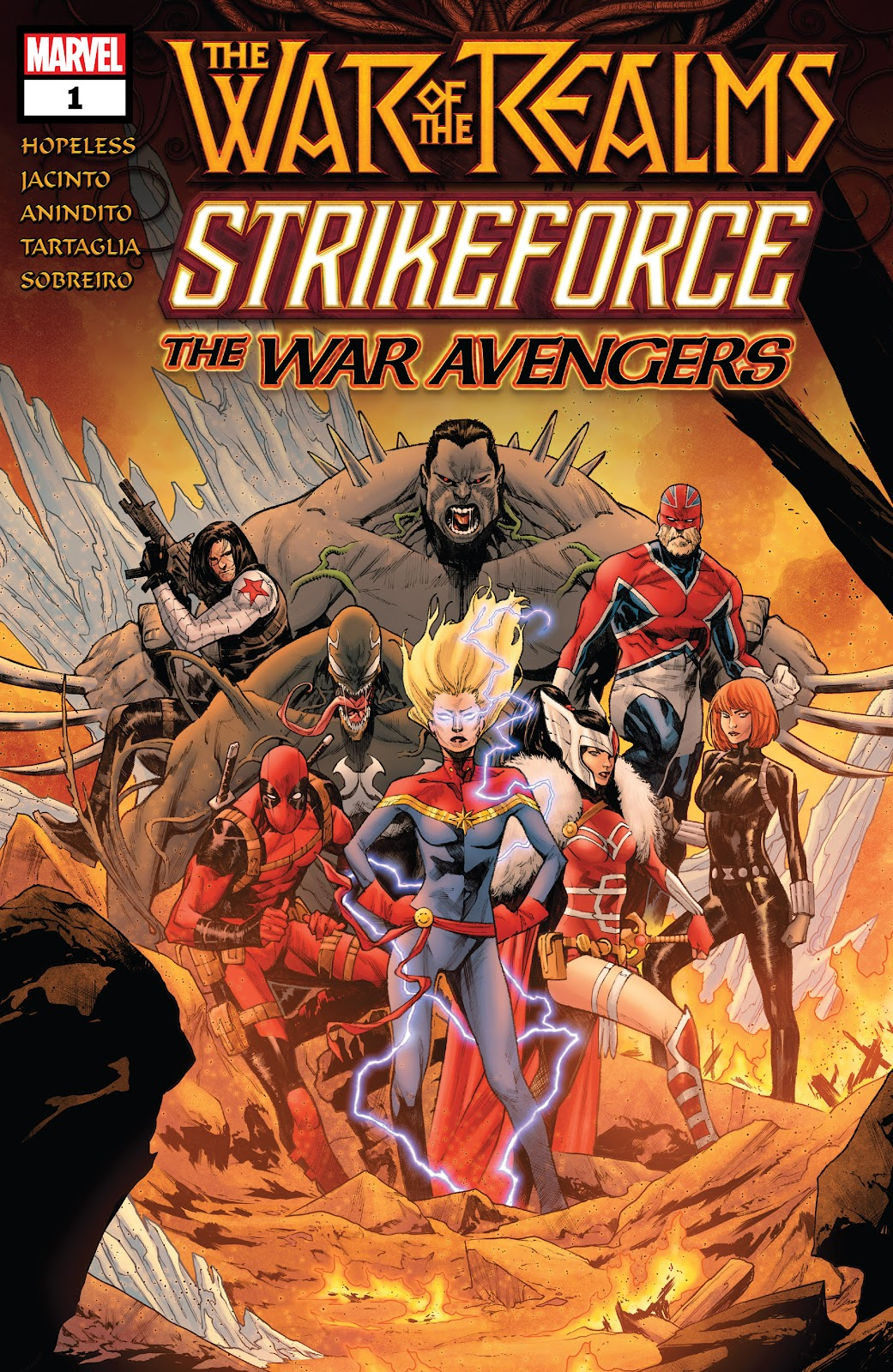 Read online War of the Realms Strikeforce: The War Avengers comic -  Issue # Full - 1
