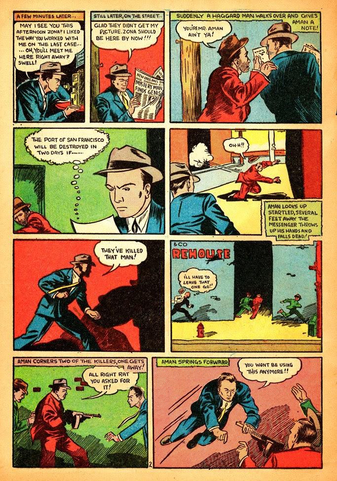 Read online Amazing Man Comics comic -  Issue #12 - 4