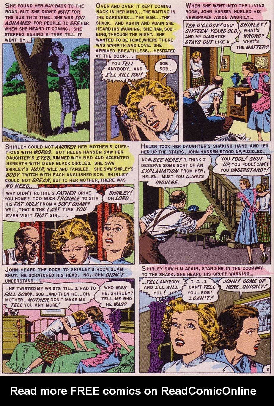 Read online Shock SuspenStories comic -  Issue #16 - 16