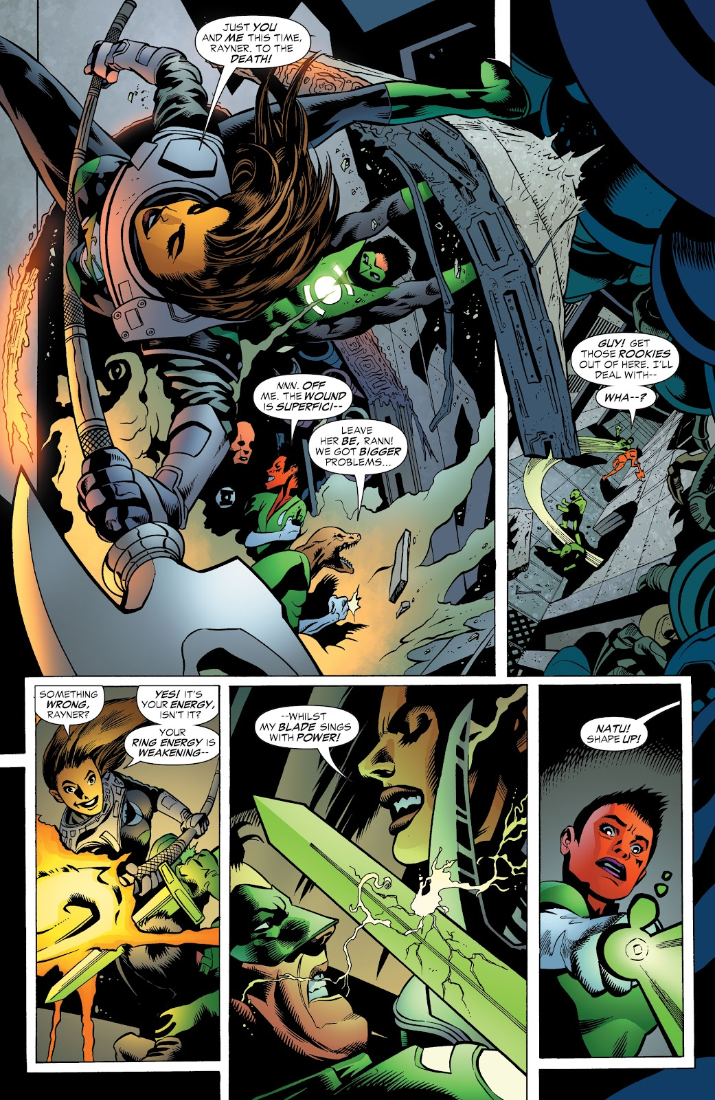 Read online Green Lantern by Geoff Johns comic -  Issue # TPB 1 (Part 3) - 62