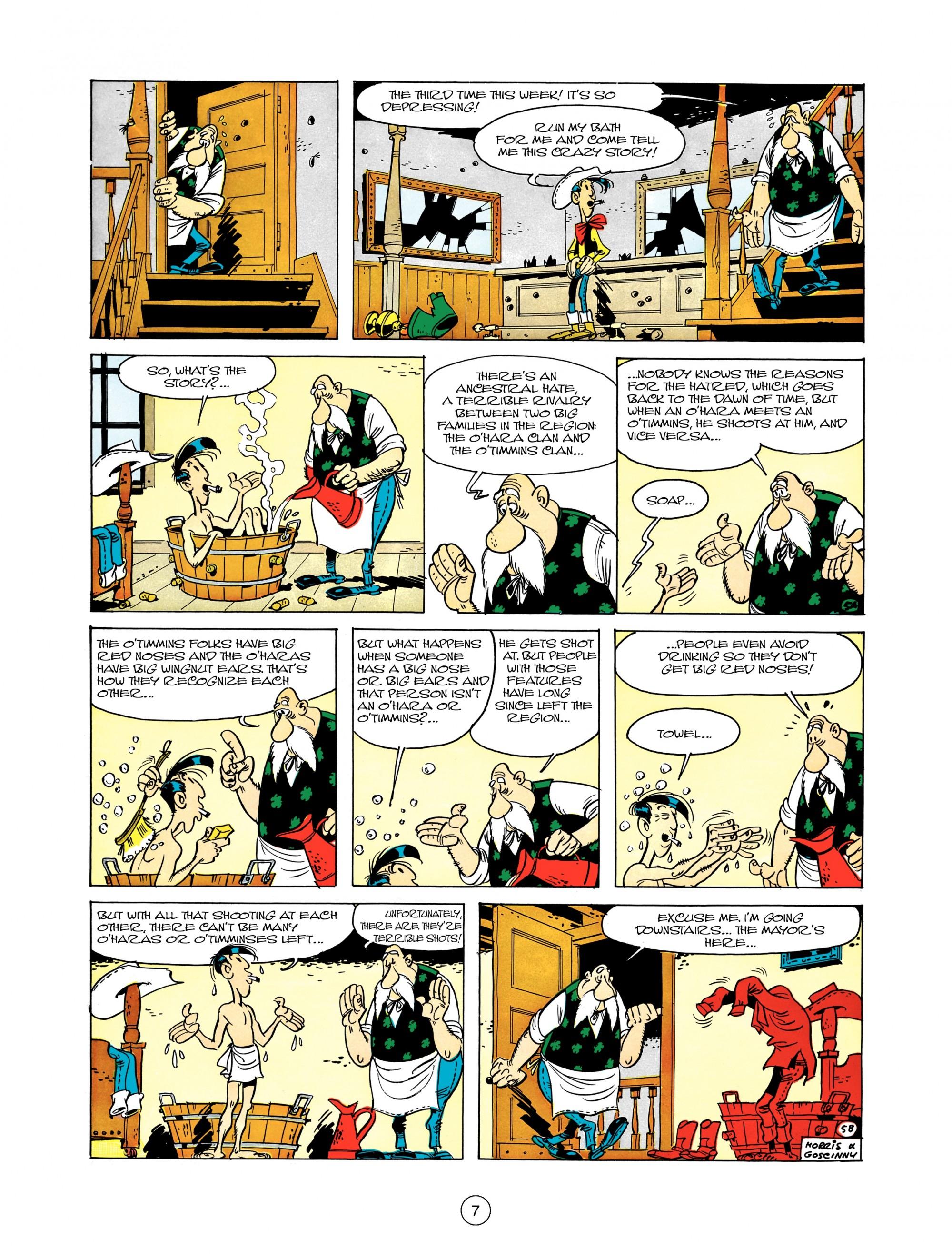 Read online A Lucky Luke Adventure comic -  Issue #12 - 7