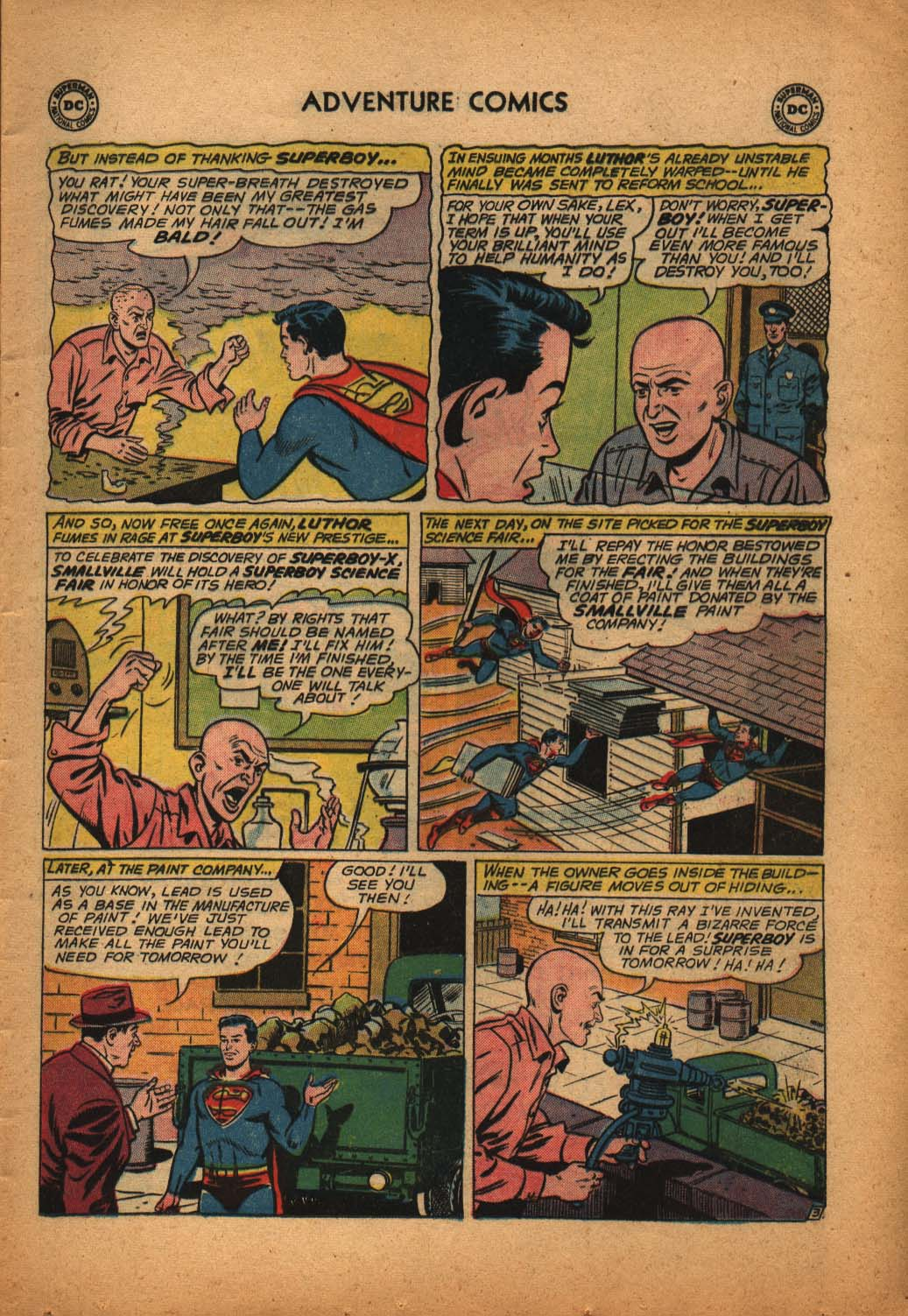 Read online Adventure Comics (1938) comic -  Issue #292 - 5