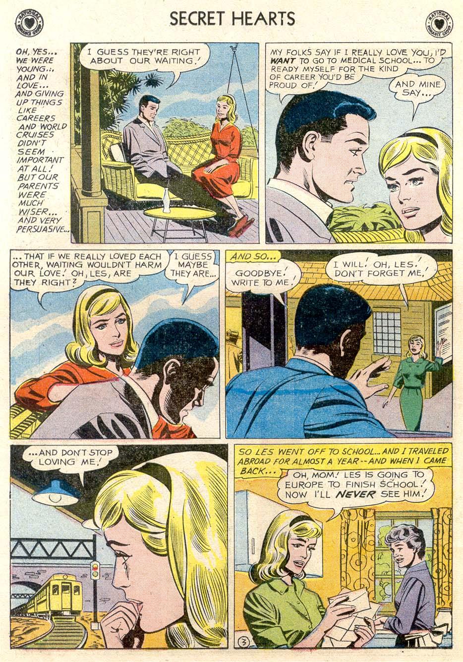 Read online Secret Hearts comic -  Issue #65 - 21