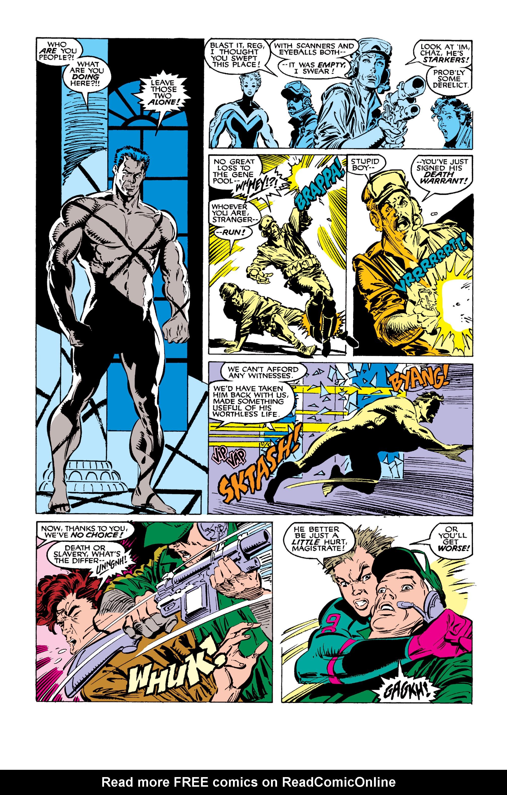 Read online Uncanny X-Men (1963) comic -  Issue #259 - 4