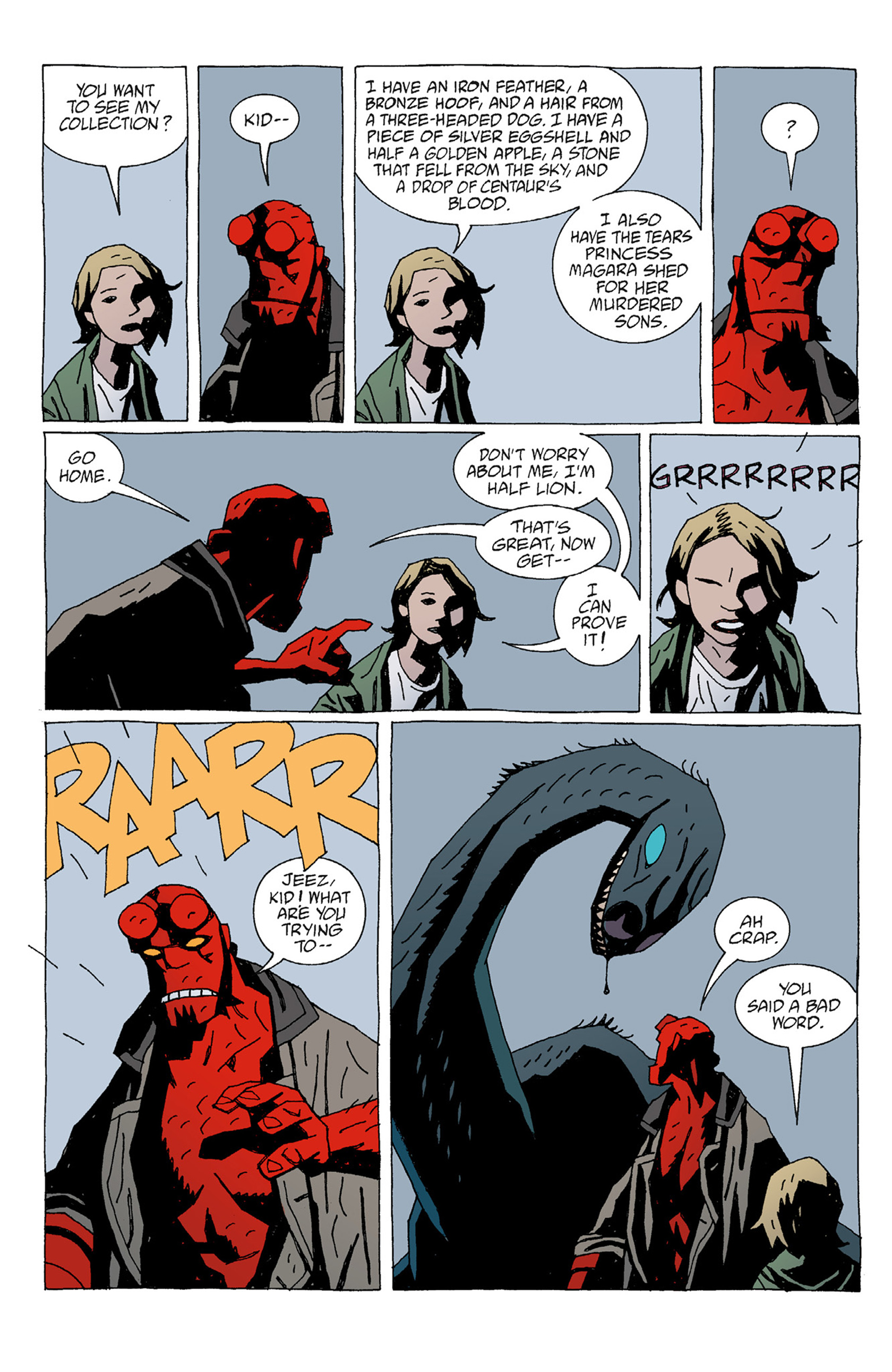 Read online Hellboy: The Troll Witch and Others comic -  Issue # TPB - 20