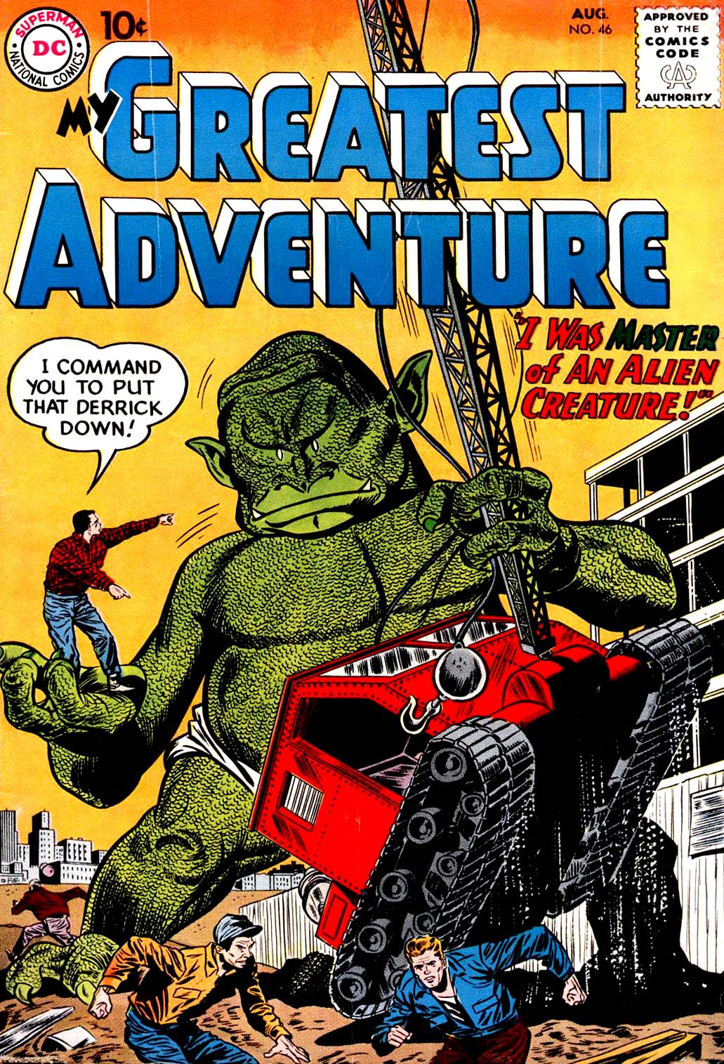 My Greatest Adventure (1955) issue 46 - Page 1