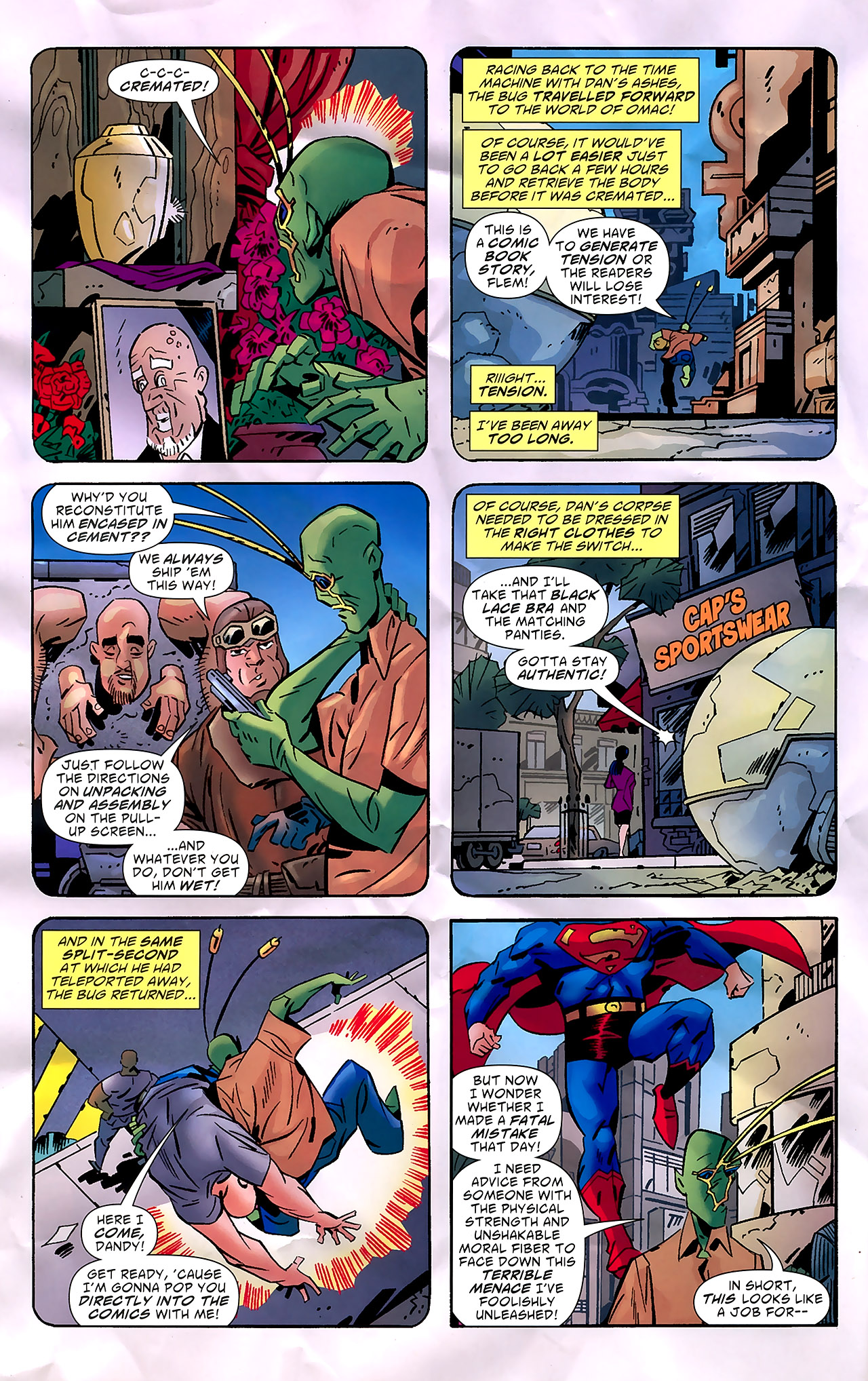 Read online Ambush Bug: Year None comic -  Issue #7 - 13