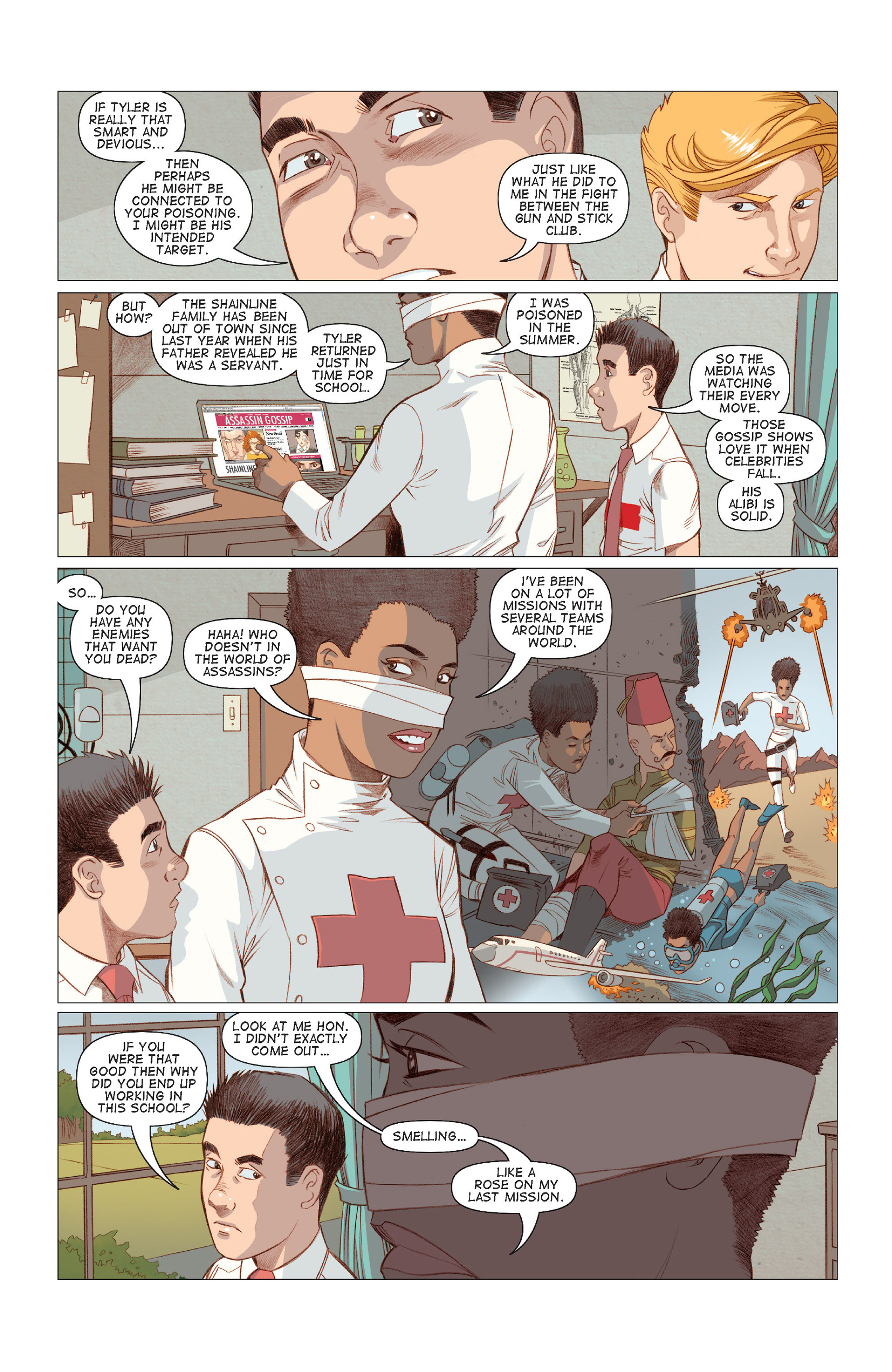 Read online Five Weapons comic -  Issue #7 - 11