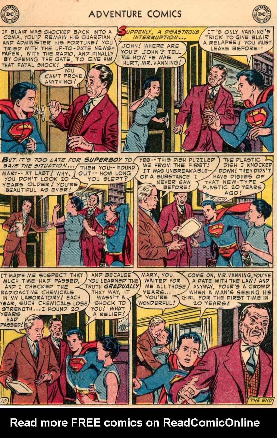 Read online Adventure Comics (1938) comic -  Issue #208 - 12