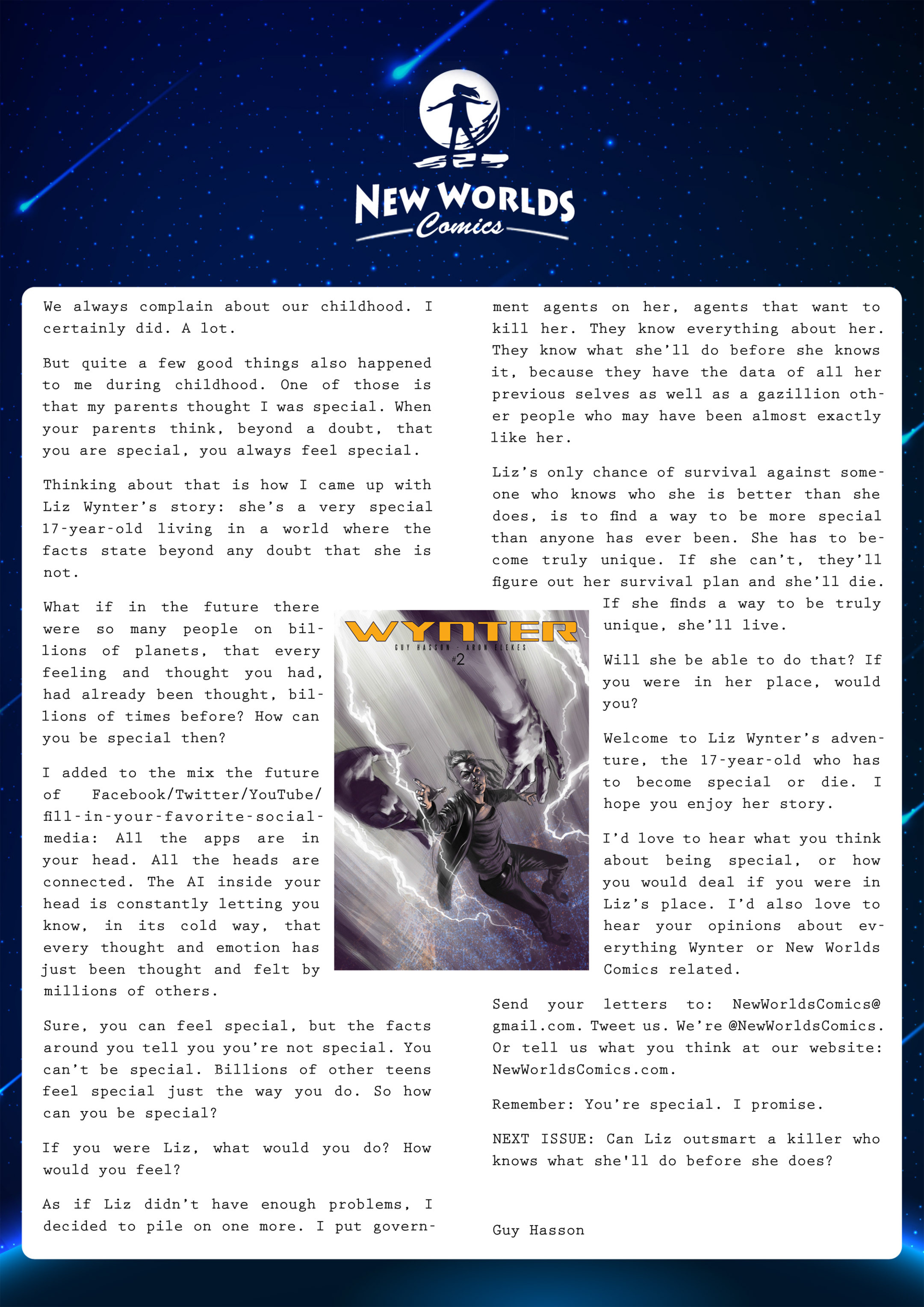 Read online Wynter comic -  Issue #1 - 24