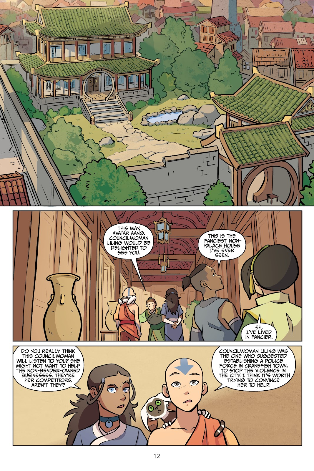 Read online Nickelodeon Avatar: The Last Airbender - Imbalance comic -  Issue # TPB 2 - 13