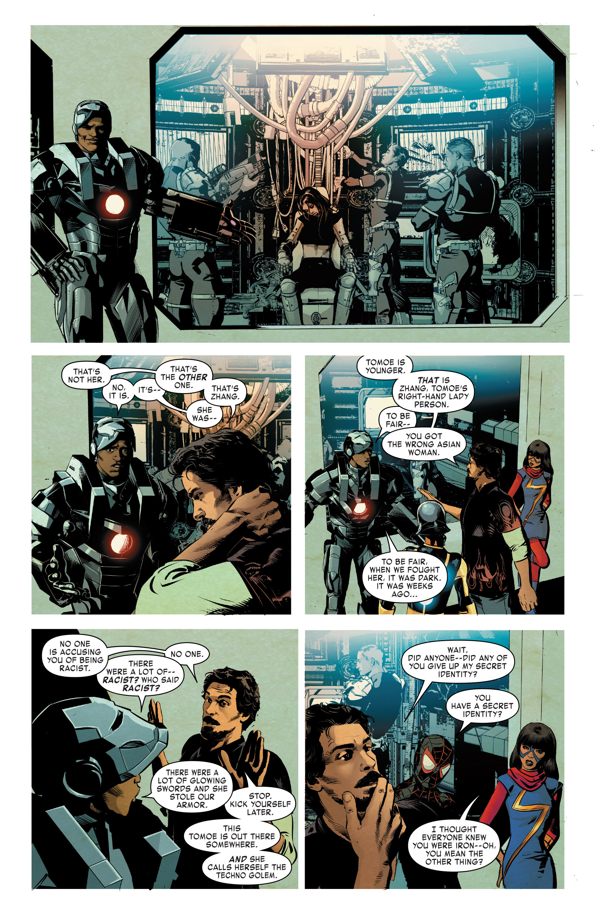 Read online True Believers: Invincible Iron Man-The War Machines comic -  Issue # Full - 124