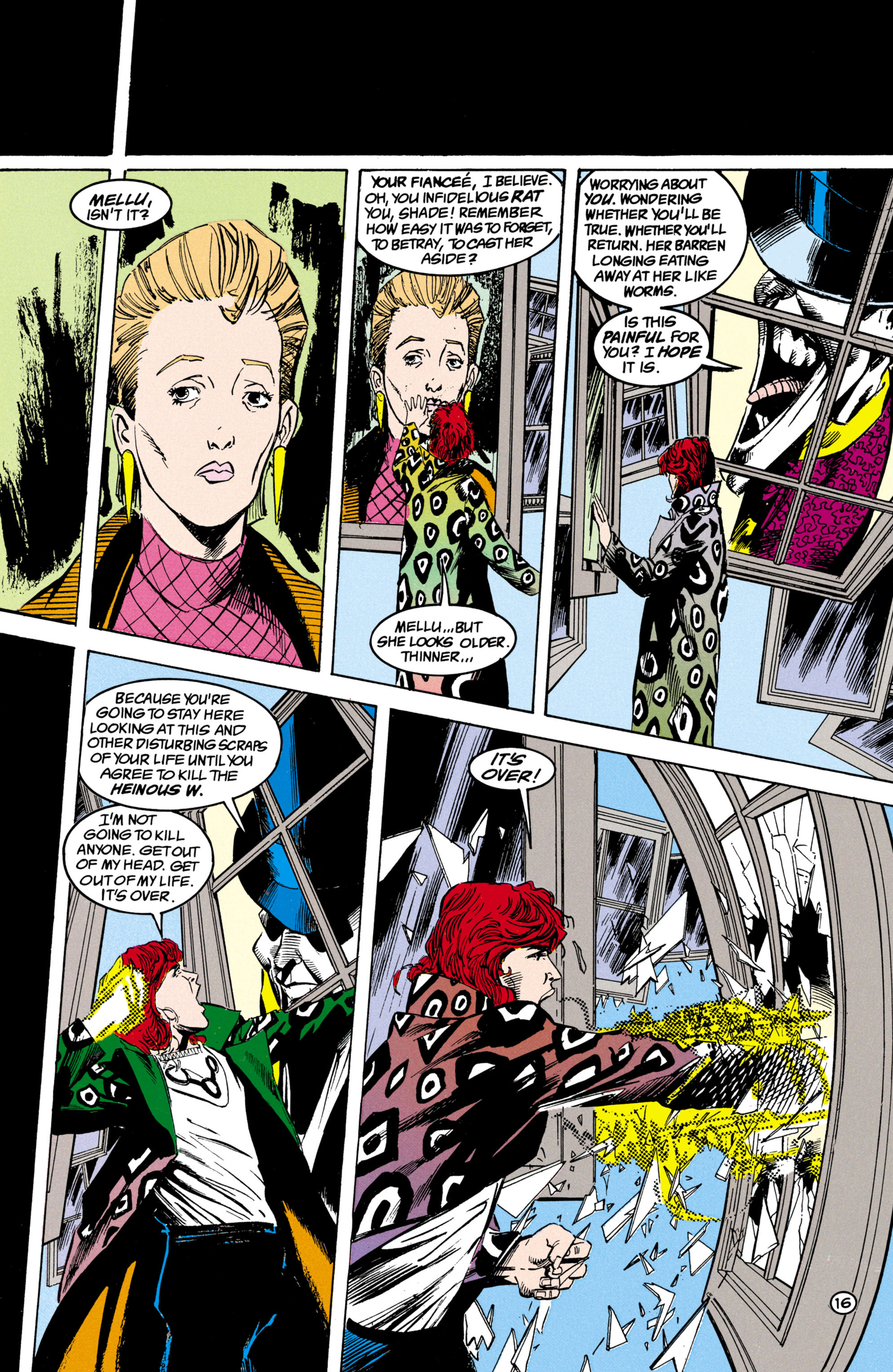 Read online Shade, the Changing Man comic -  Issue #17 - 17