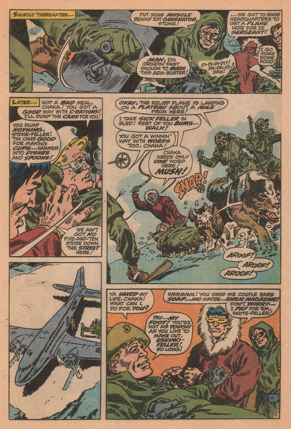 Captain Savage and his Leatherneck Raiders issue 16 - Page 17