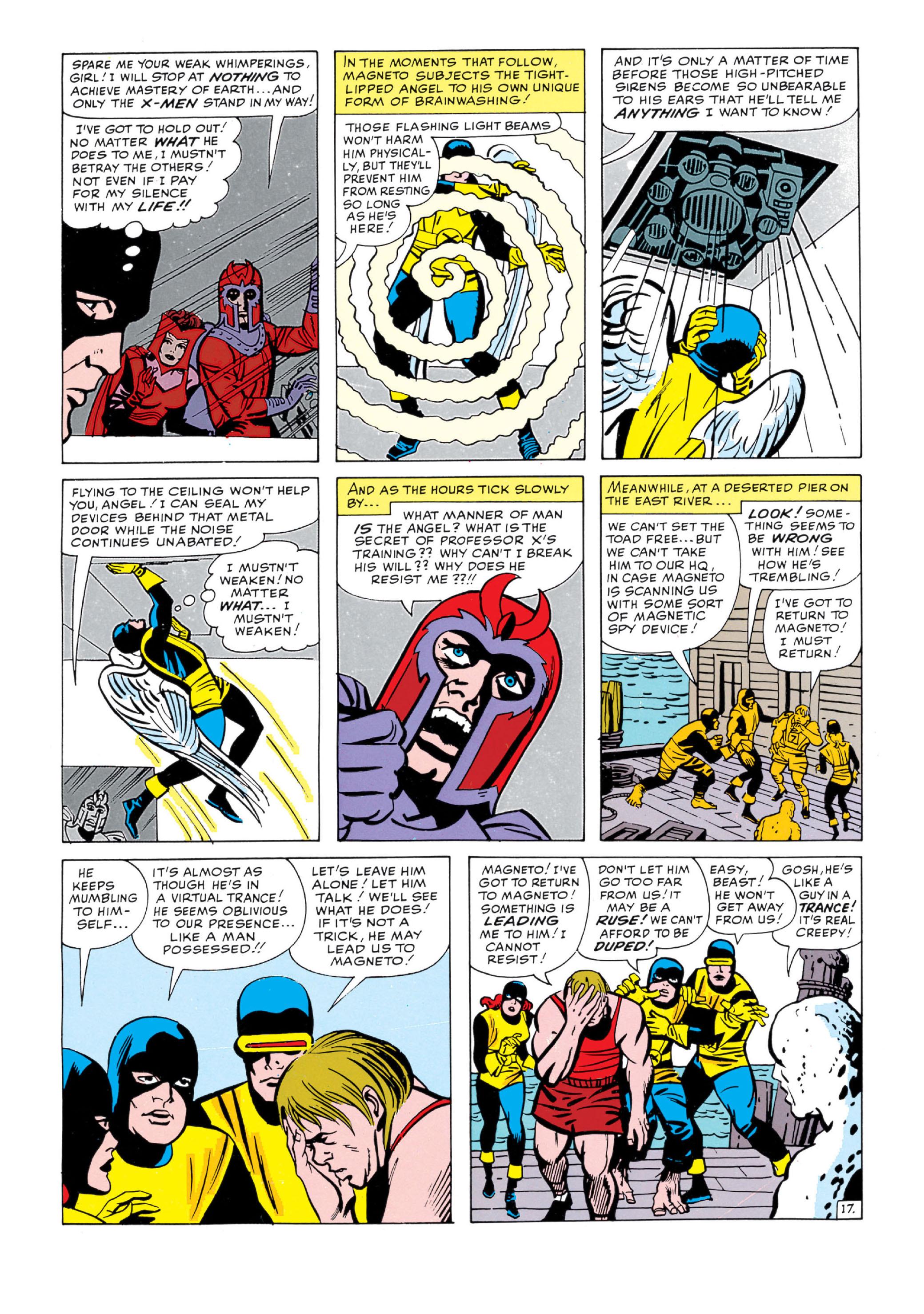 Read online Uncanny X-Men (1963) comic -  Issue #5 - 18