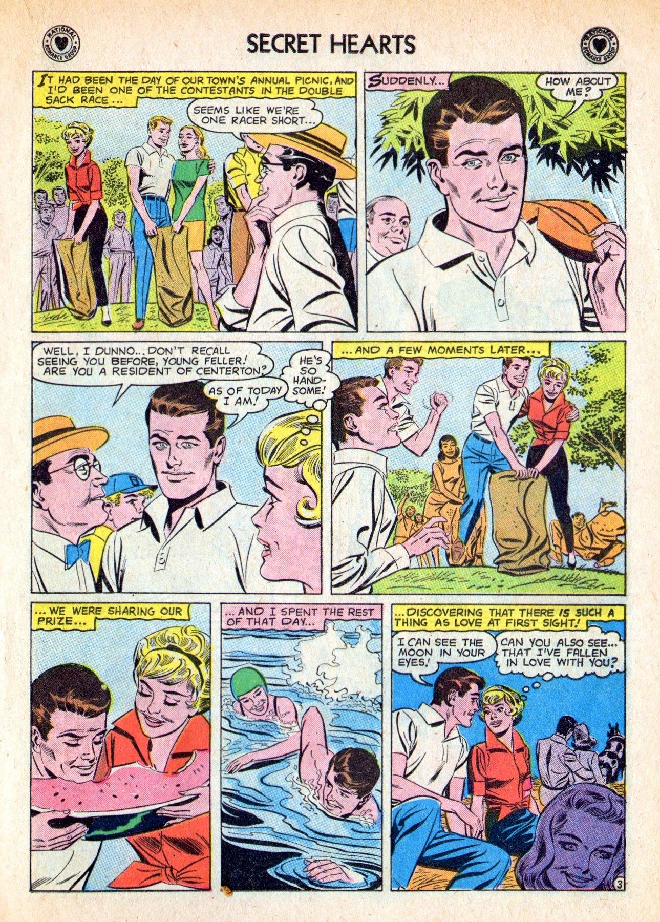 Read online Secret Hearts comic -  Issue #53 - 21