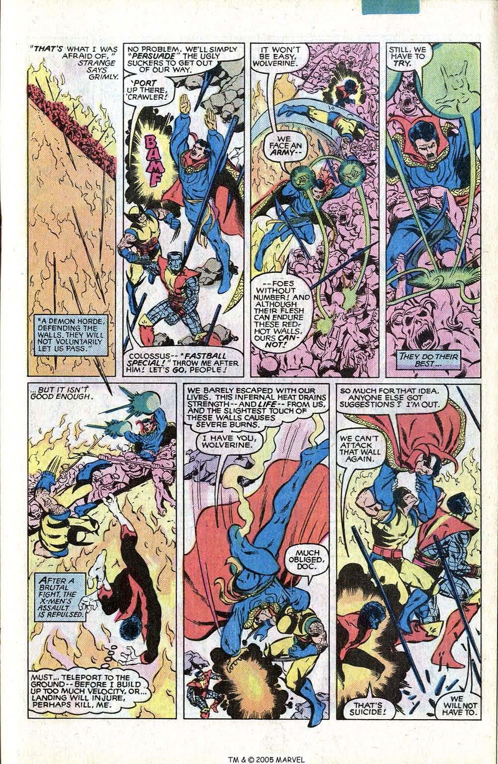 Read online Uncanny X-Men (1963) comic -  Issue # _Annual 4 - 33