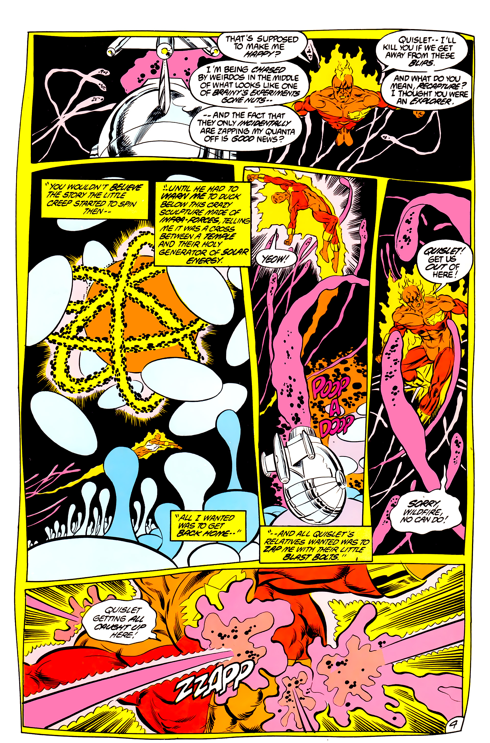 Legion of Super-Heroes (1984) 44 Page 4