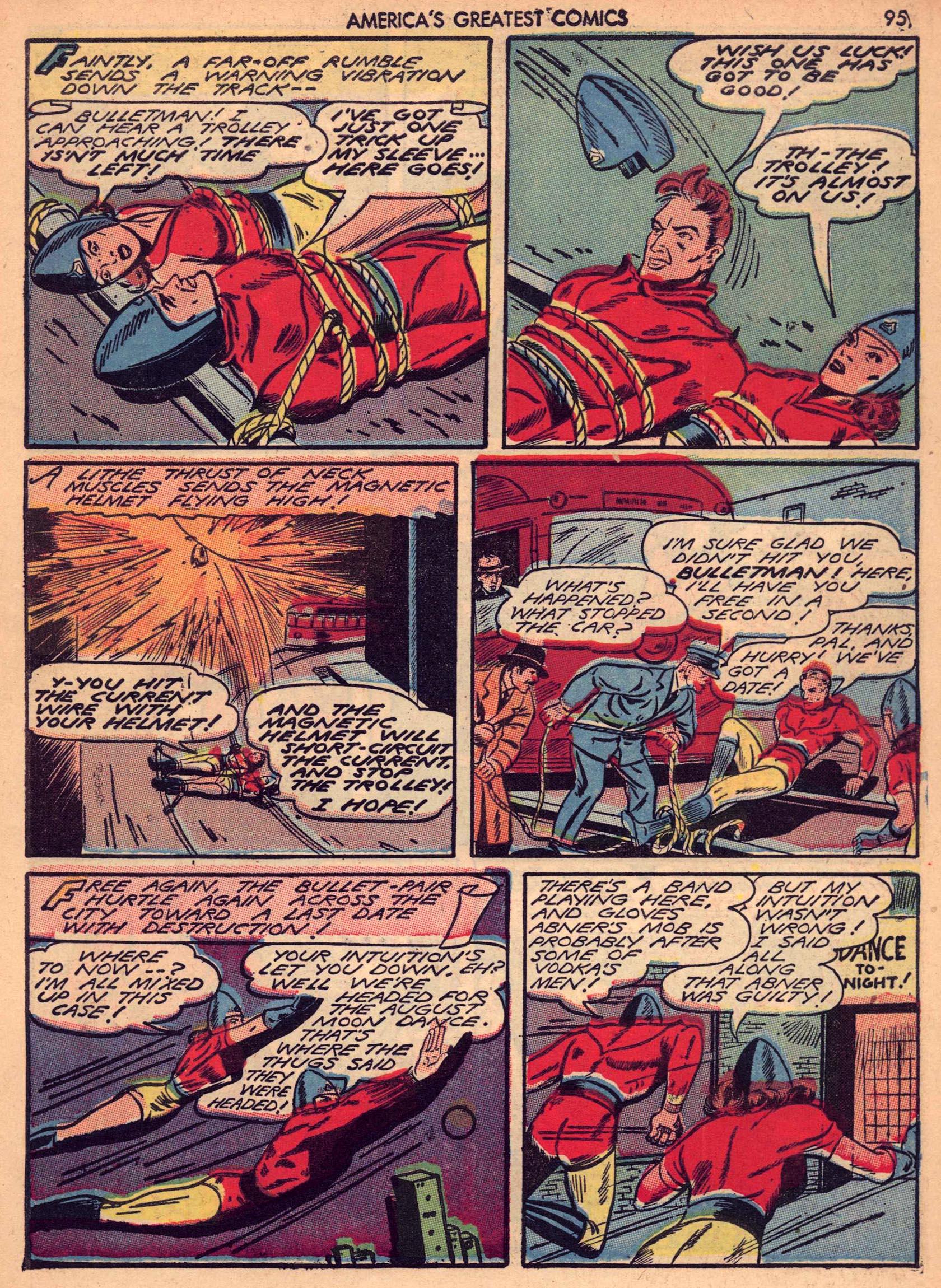 Read online America's Greatest Comics comic -  Issue #7 - 94