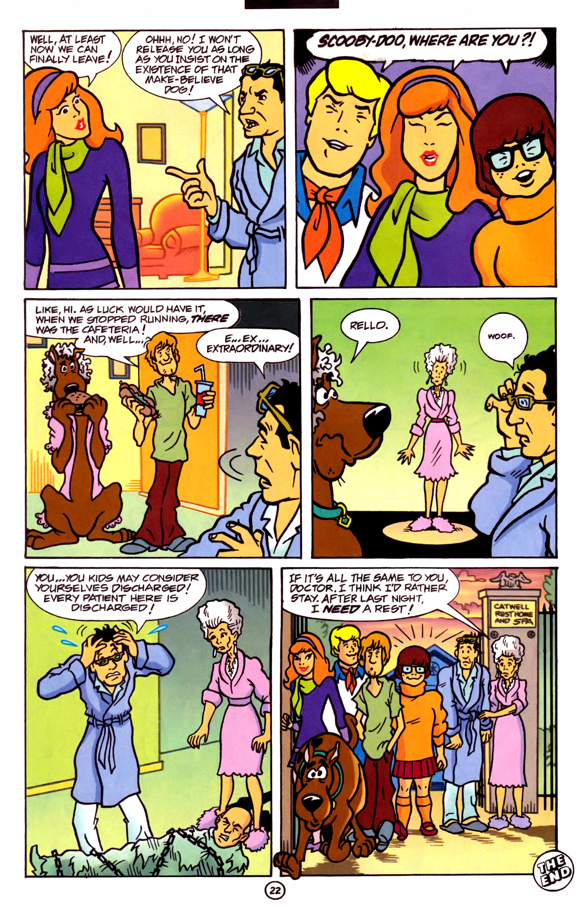 Read online Scooby-Doo (1997) comic -  Issue #1 - 17