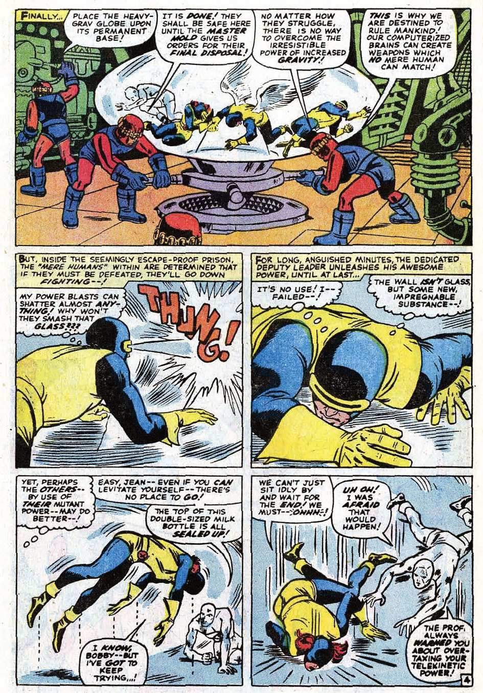 Read online Uncanny X-Men (1963) comic -  Issue #69 - 6