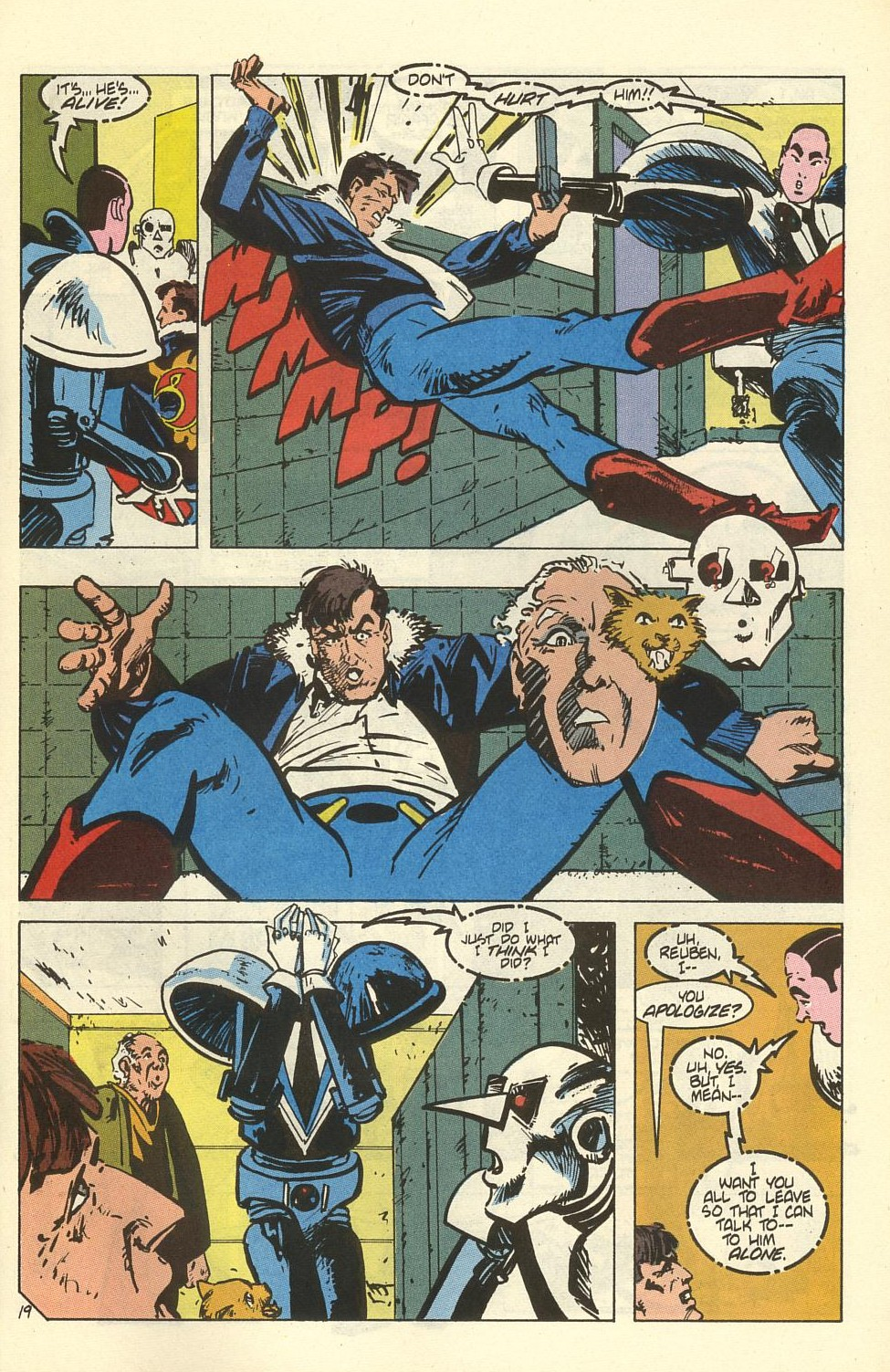 Read online American Flagg! comic -  Issue #41 - 25
