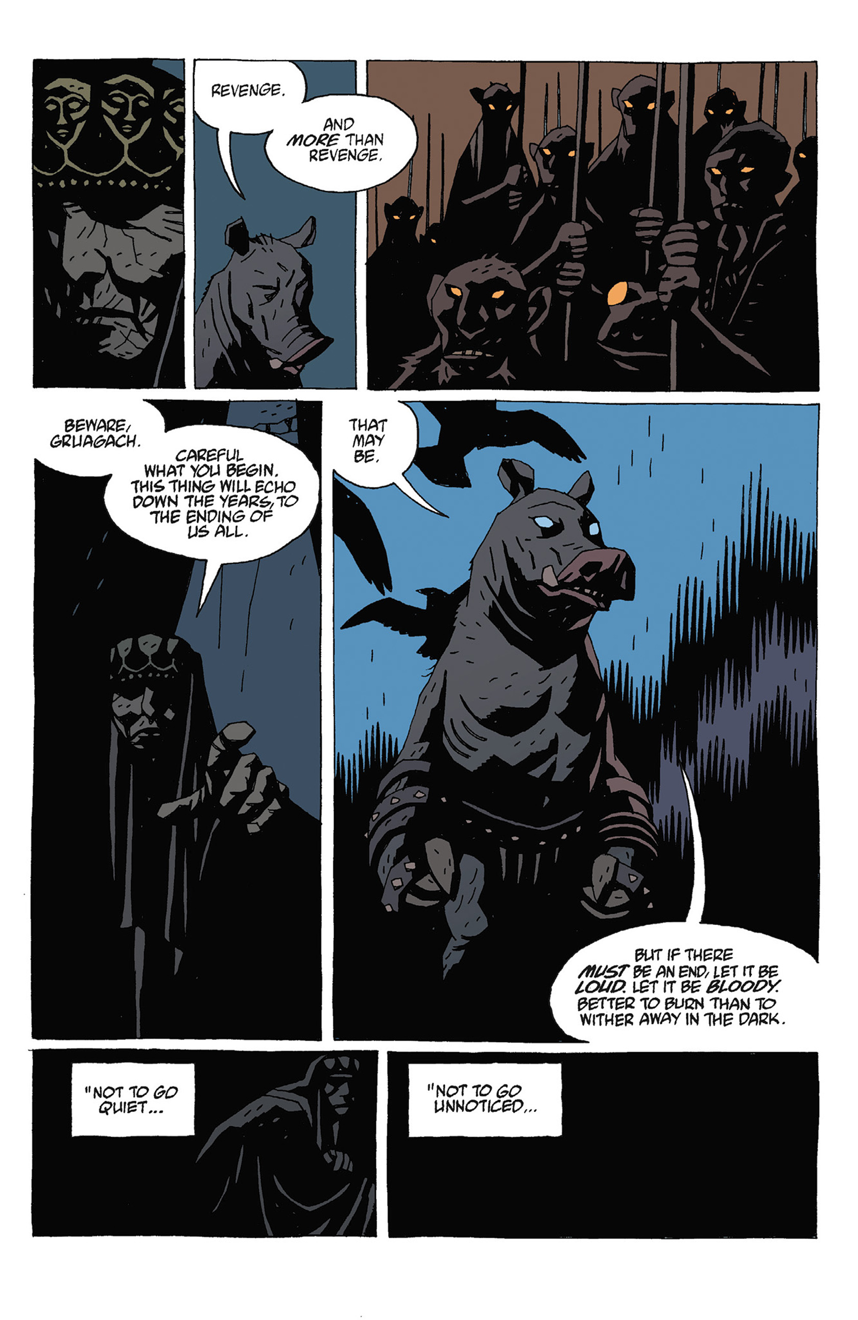 Read online Hellboy: Strange Places comic -  Issue # TPB - 131