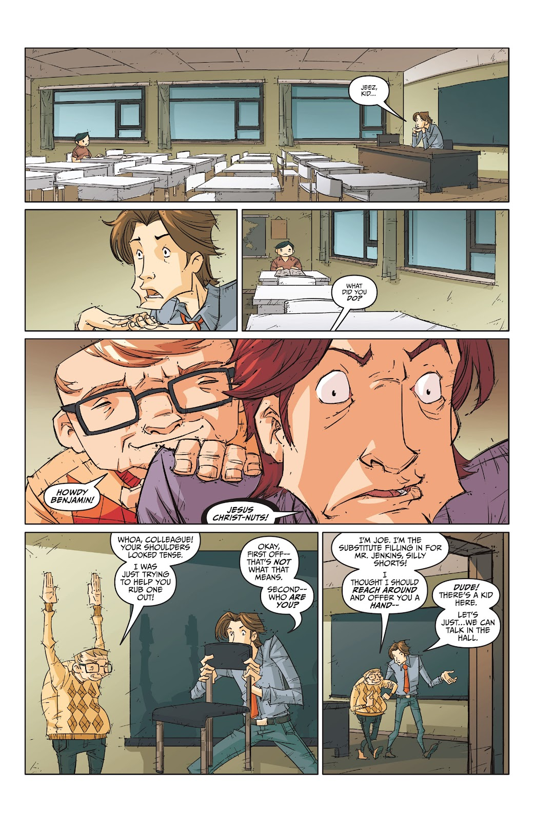 Read online The End Times of Bram and Ben comic -  Issue #1 - 24