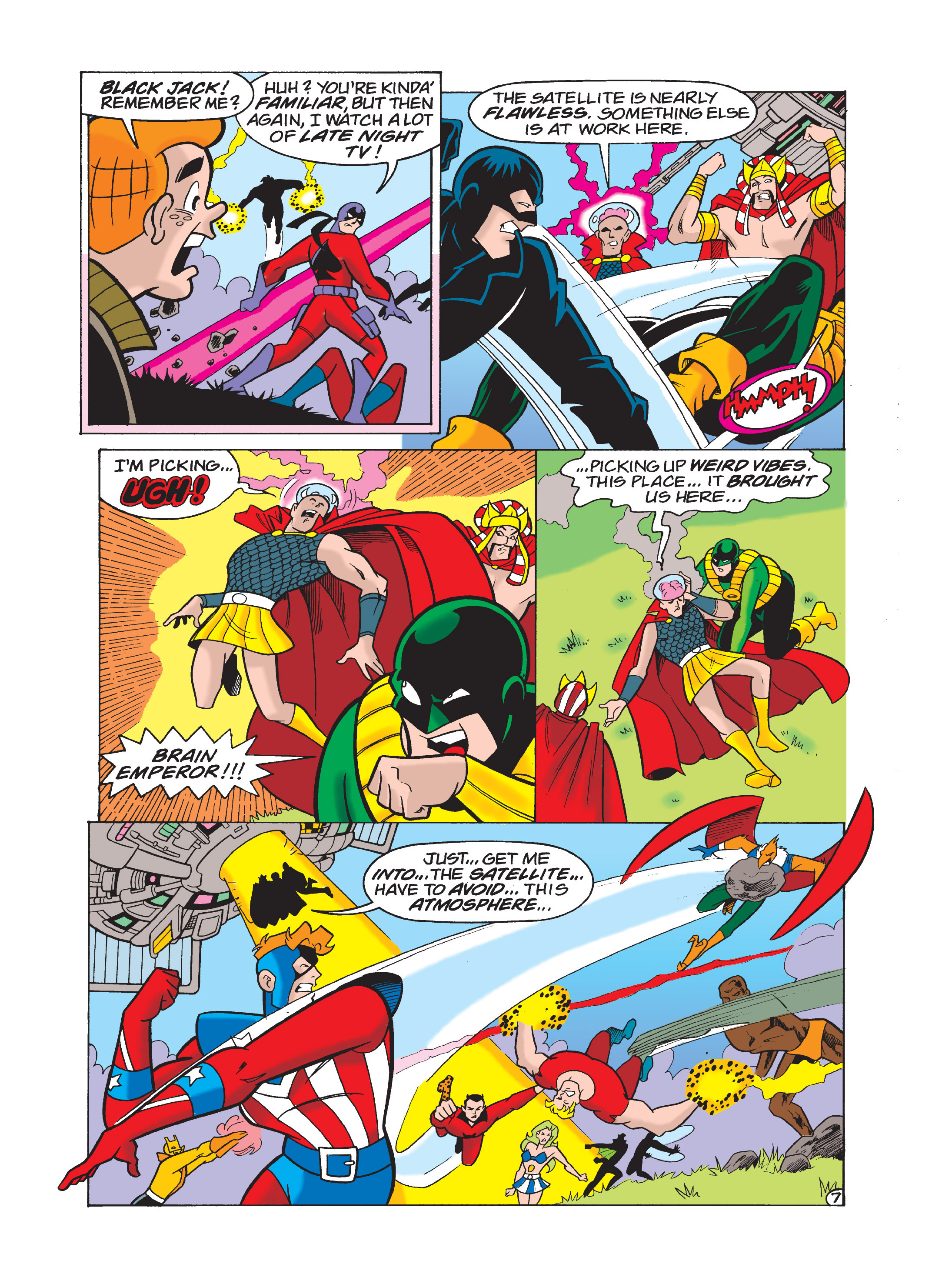 Read online Archie 75th Anniversary Digest comic -  Issue #1 - 123