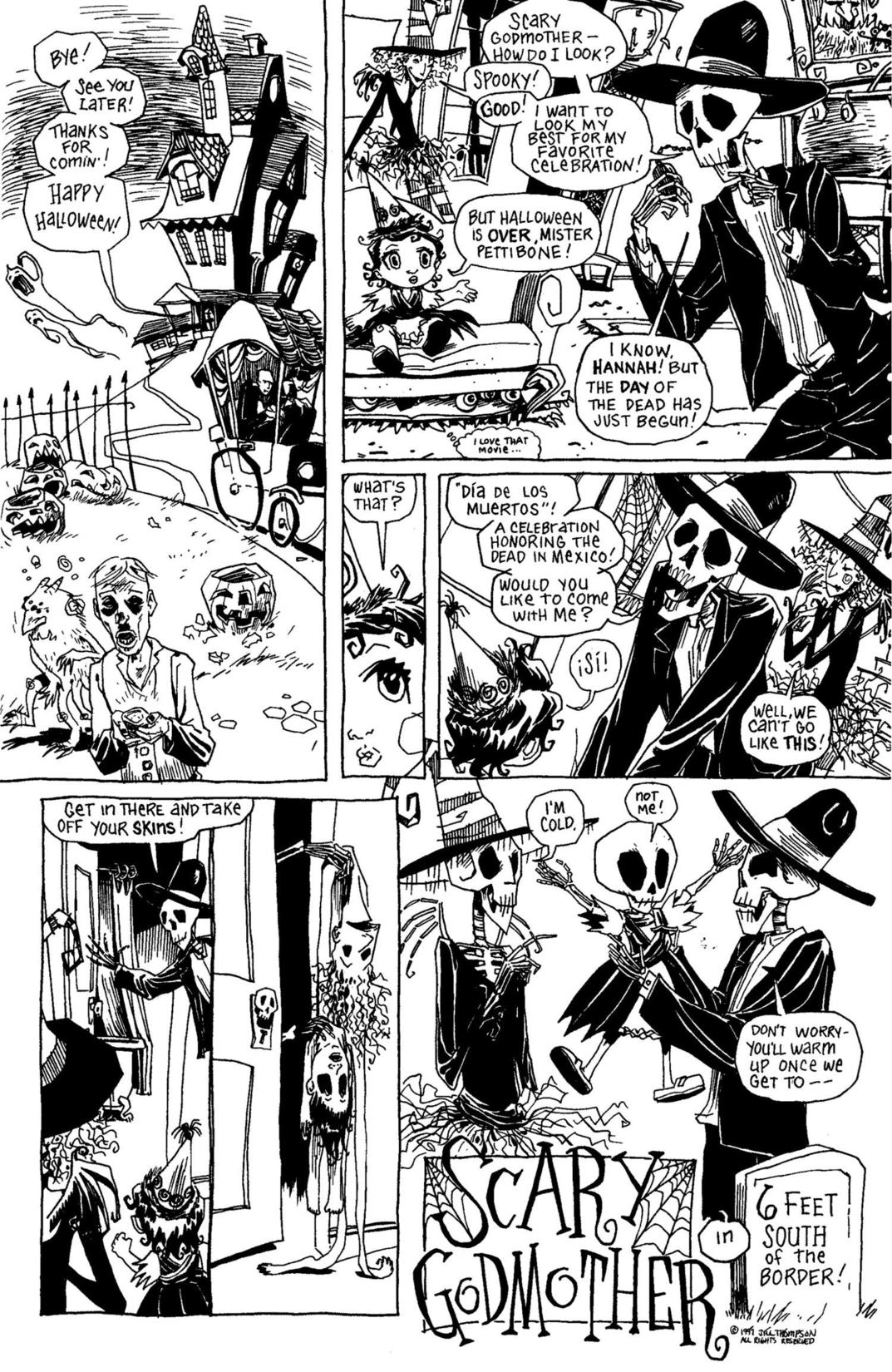 Read online Scary Godmother Comic Book Stories comic -  Issue # TPB - 267