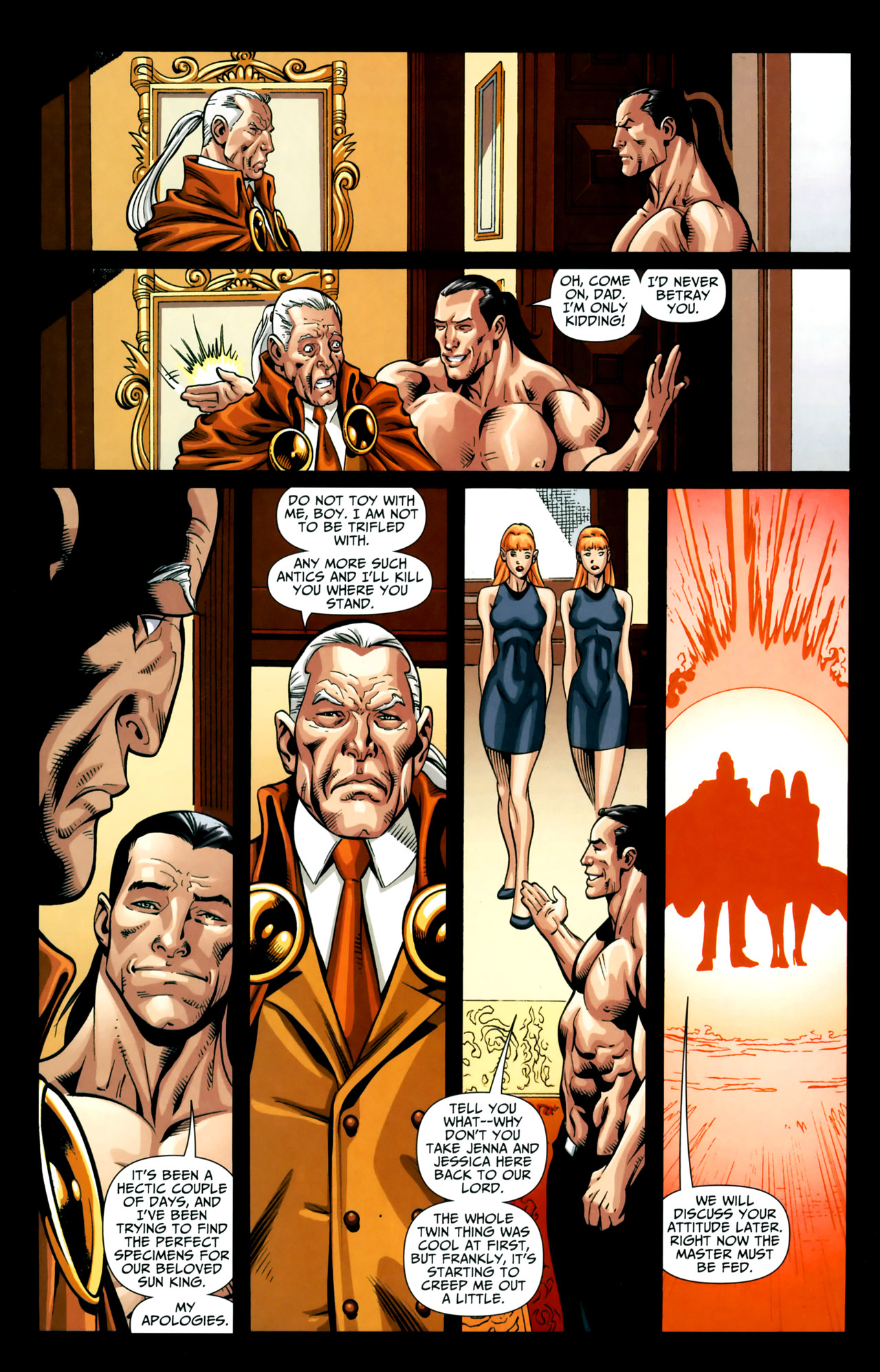 Read online Shadowpact comic -  Issue #18 - 22