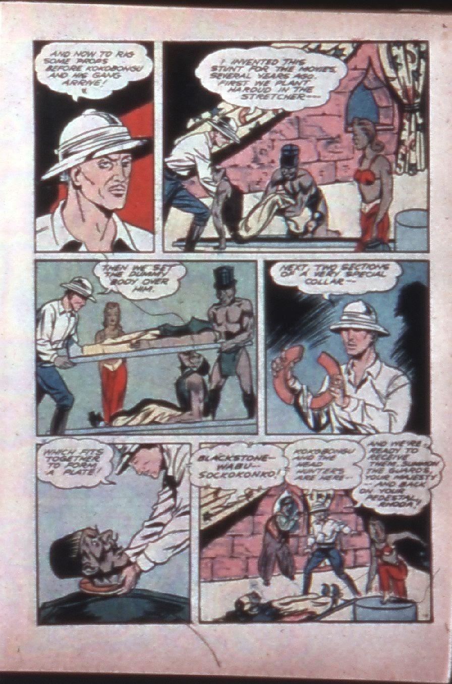 Read online Super-Magician Comics comic -  Issue #7 - 27