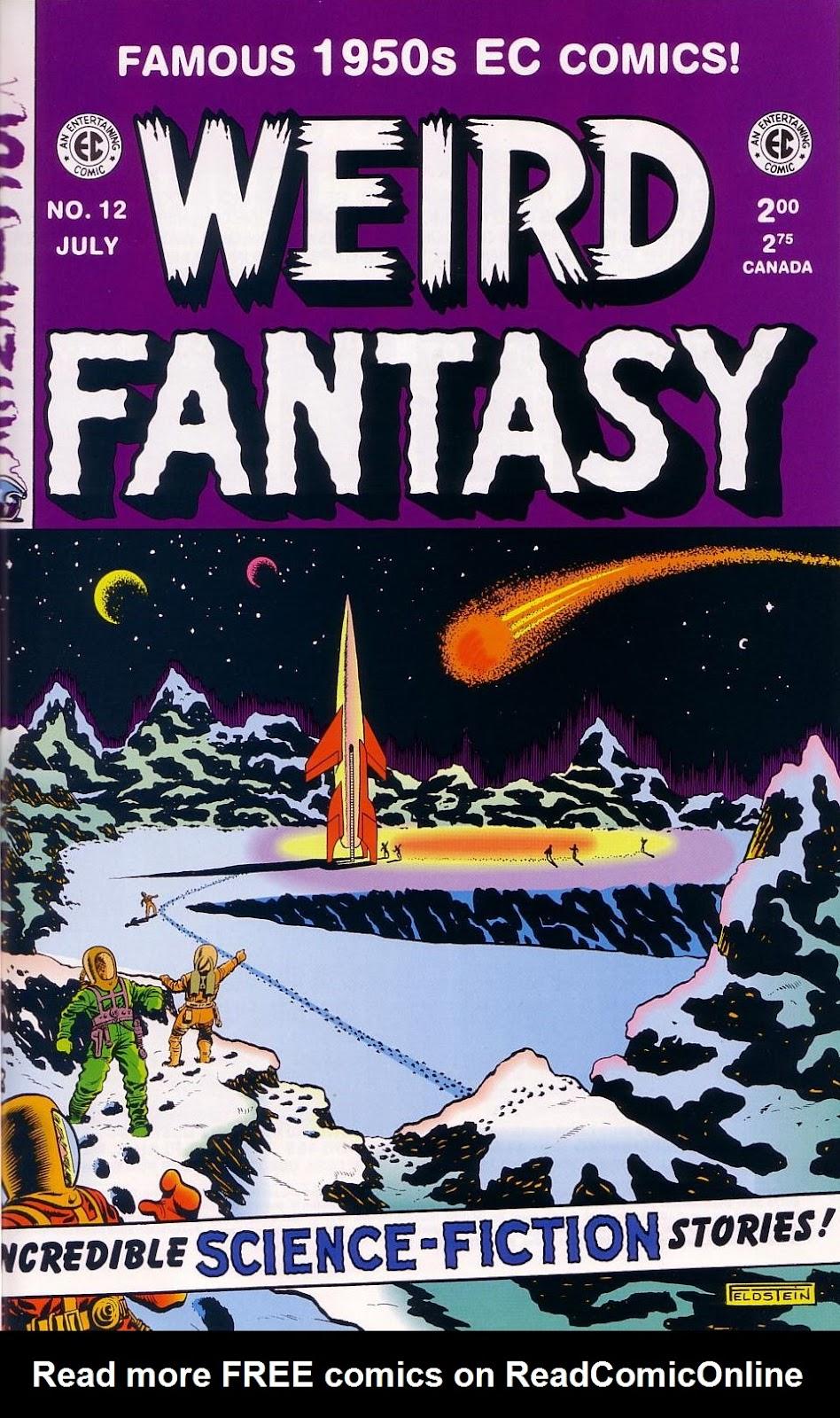 Weird Fantasy (1951) 12 Page 1