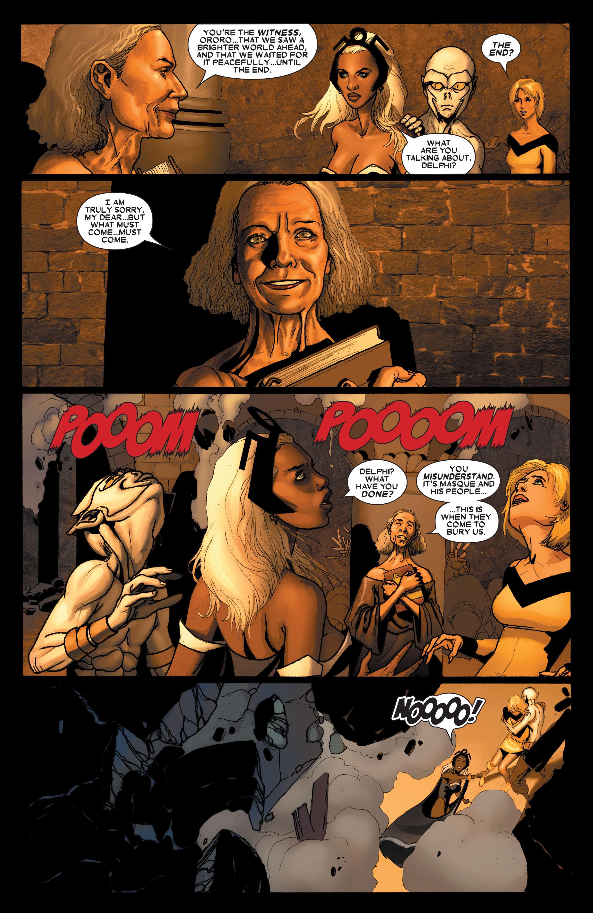 Read online Uncanny X-Men (1963) comic -  Issue #490 - 21
