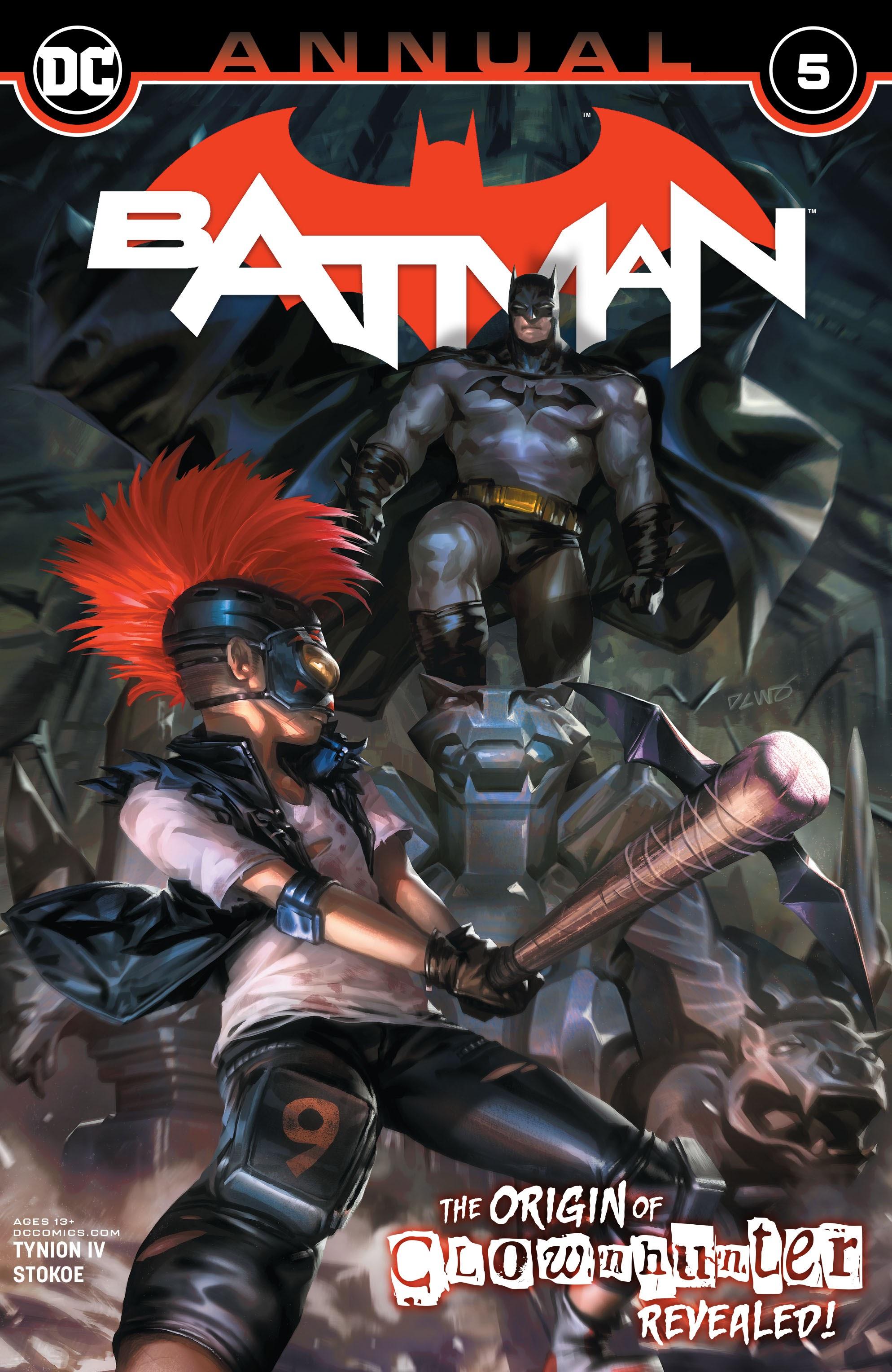 Batman (2016) issue Annual_5 - Page 1