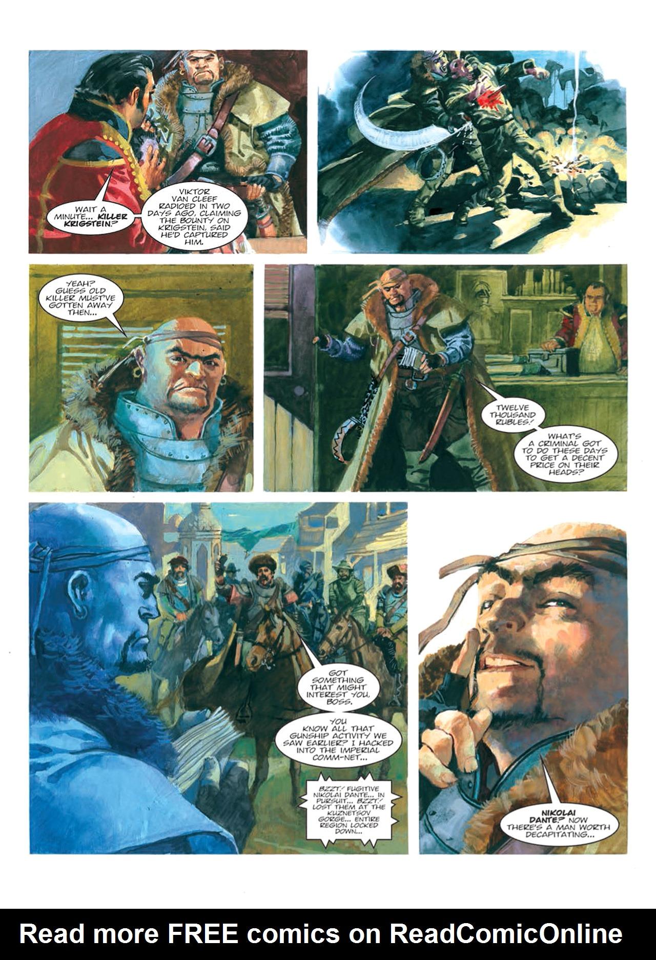 Read online Nikolai Dante comic -  Issue # TPB 9 - 108