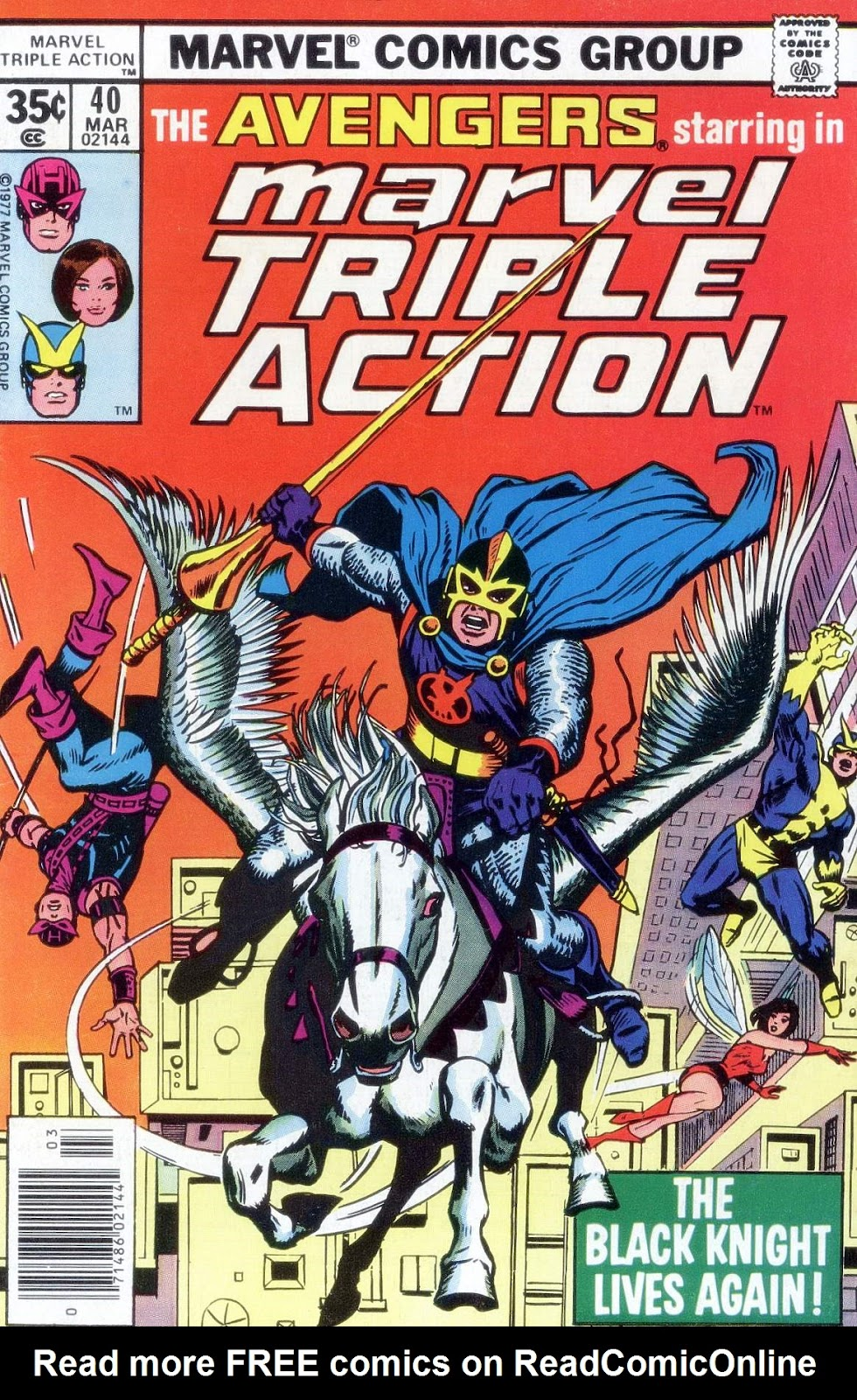 Marvel Triple Action (1972) issue 40 - Page 1