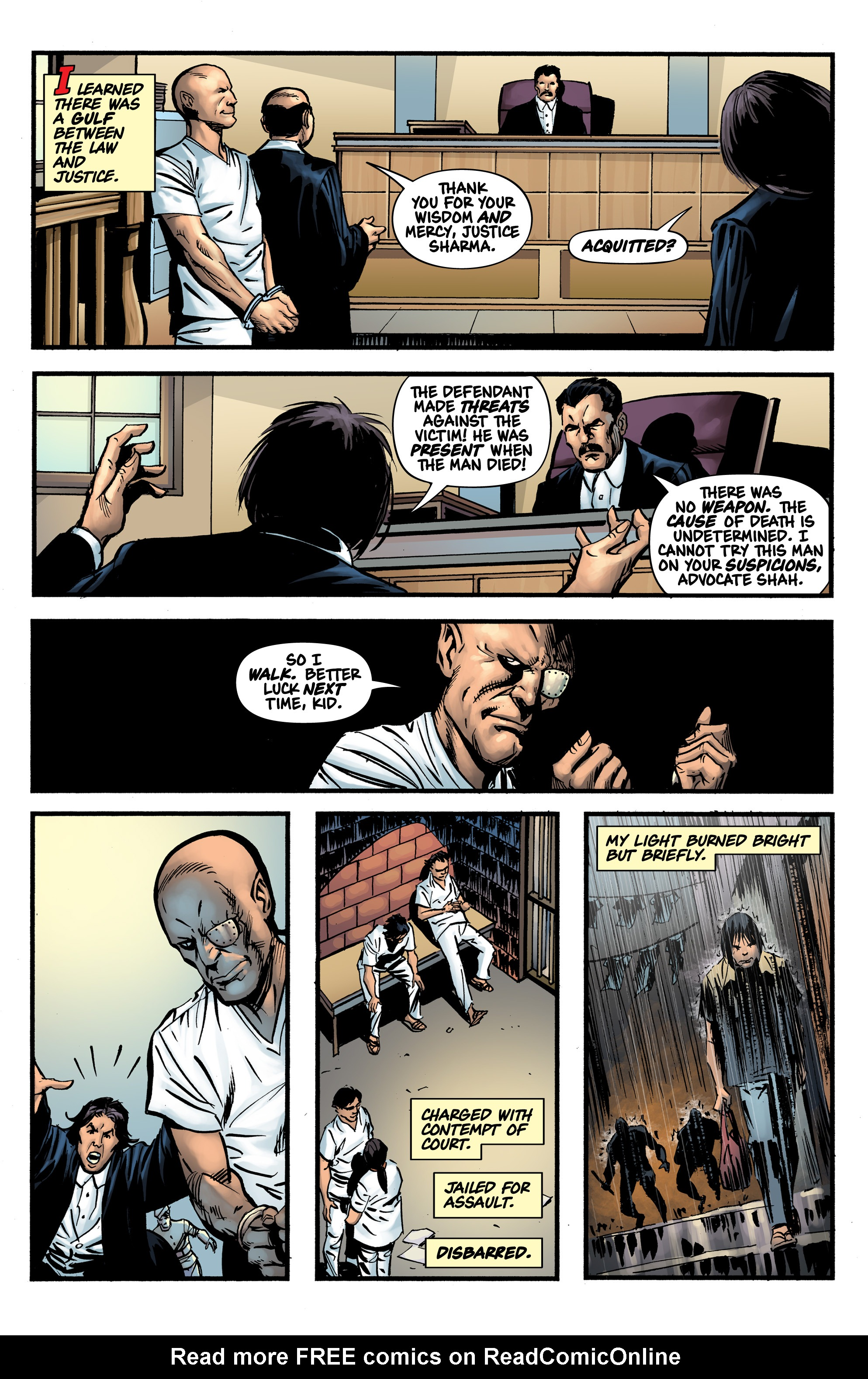 Read online Shadow Tiger comic -  Issue #1 - 13