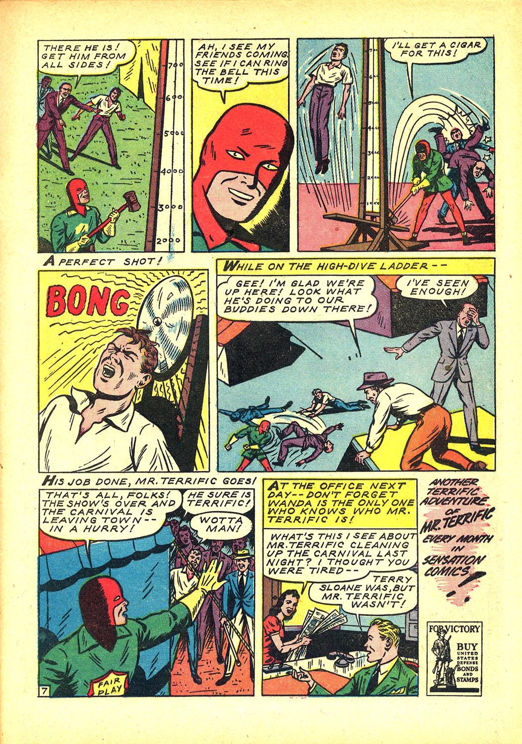 Read online Sensation (Mystery) Comics comic -  Issue #8 - 31