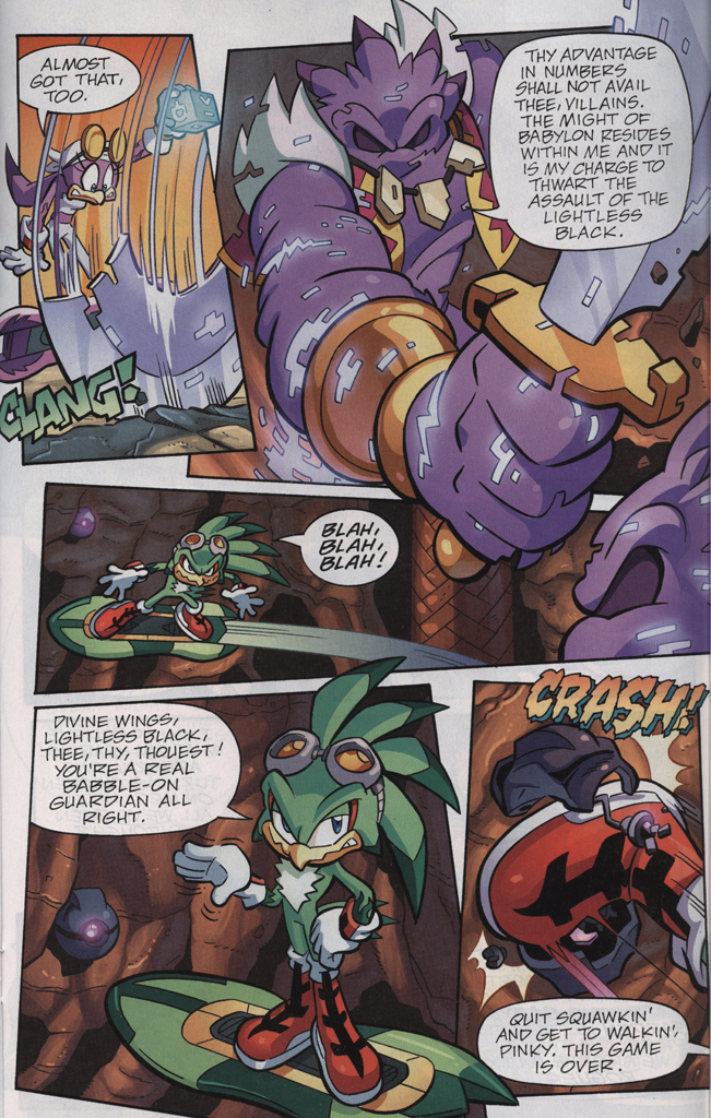 Read online Sonic Universe comic -  Issue #33 - 21
