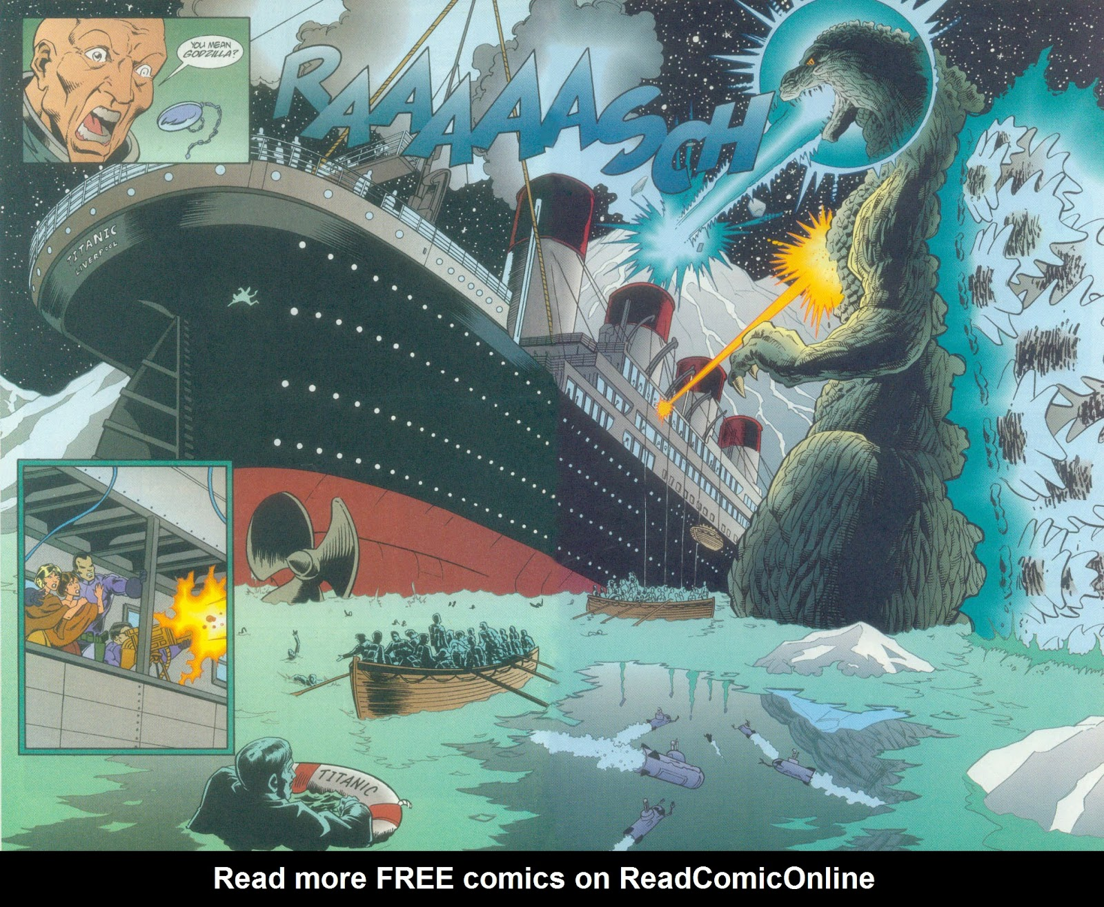 Godzilla (1995) Issue #11 #12 - English 15