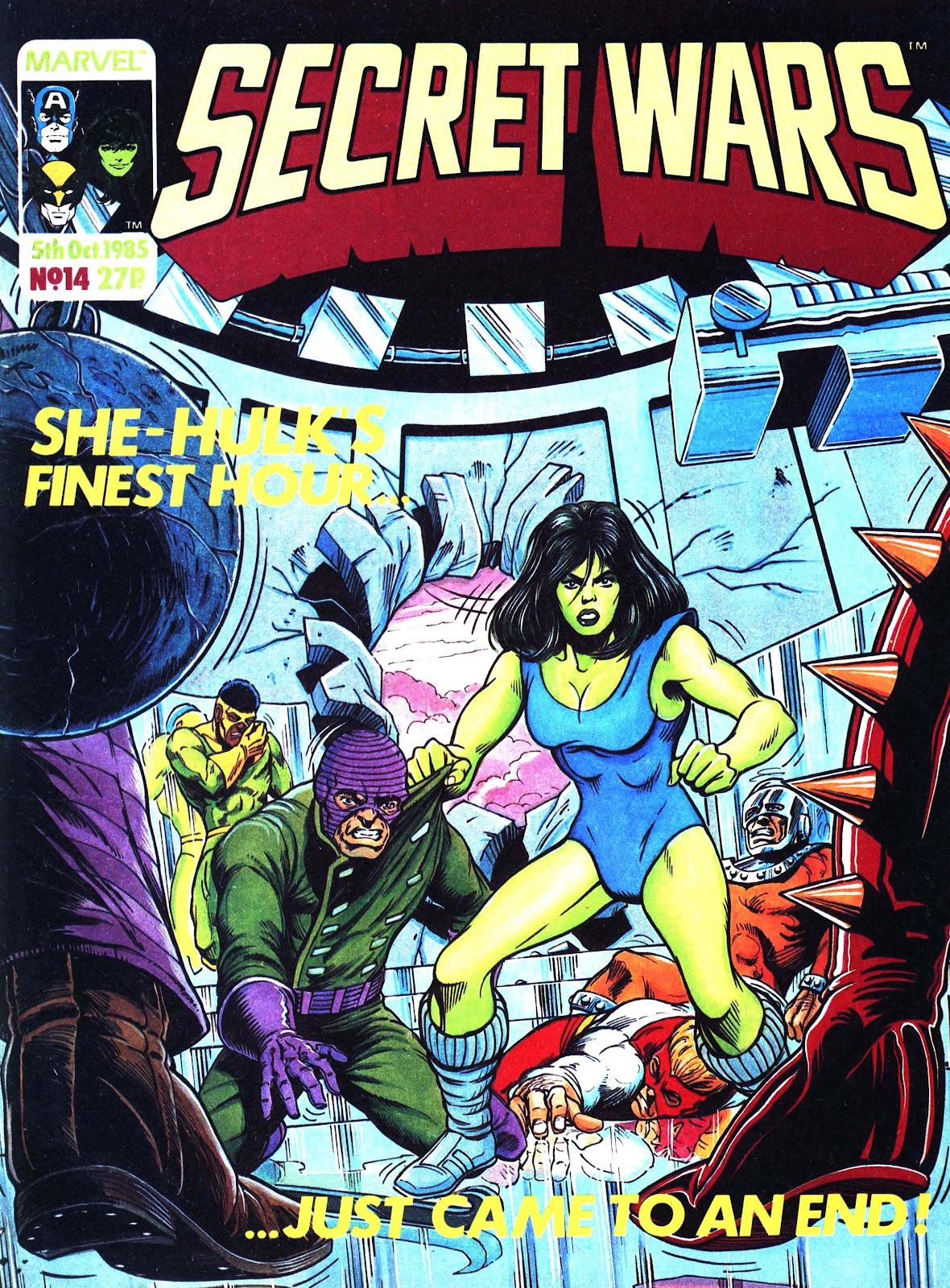 Secret Wars (1985) issue 14 - Page 1