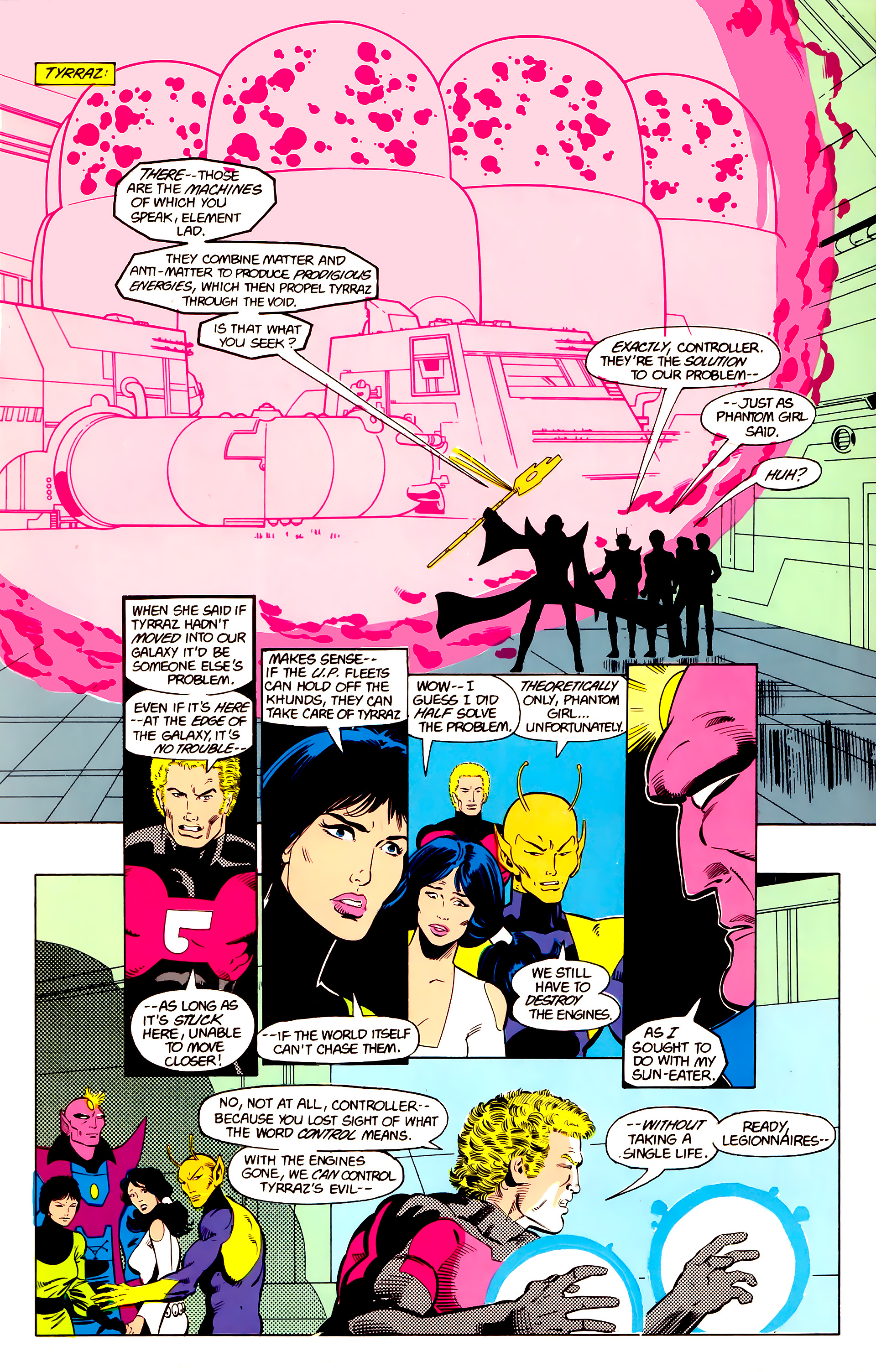 Legion of Super-Heroes (1984) 20 Page 14