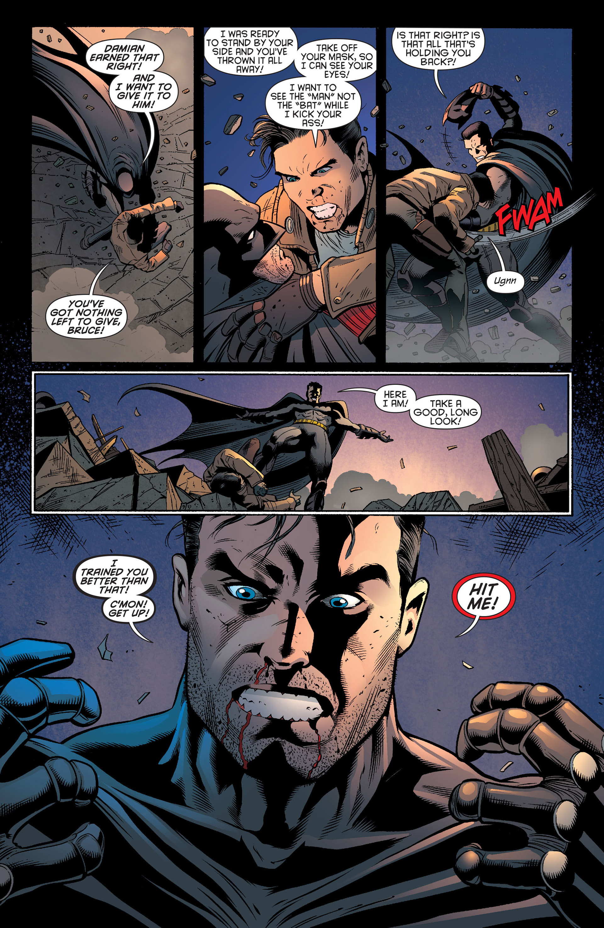 Read online Batman and Robin (2011) comic -  Issue #20 - 19