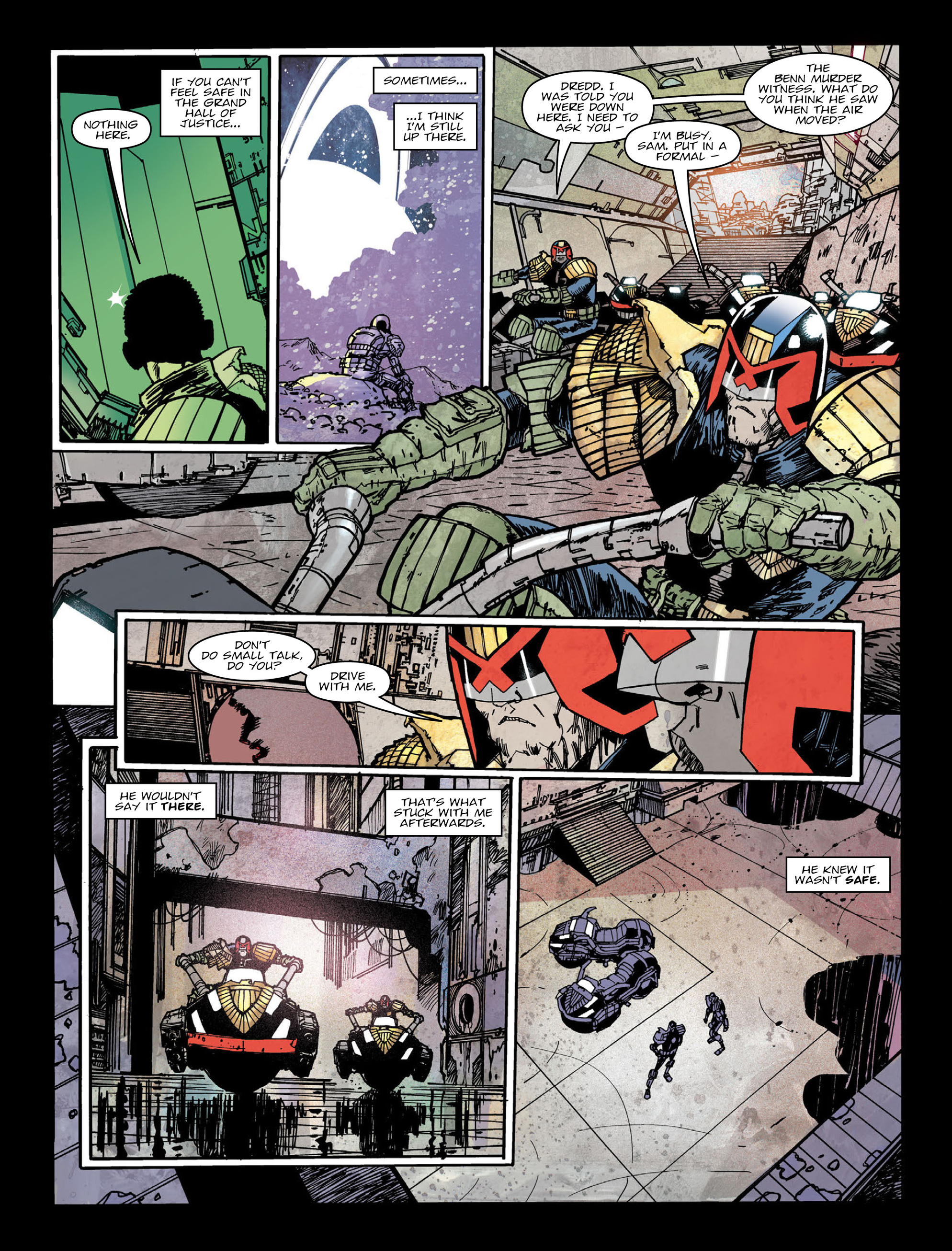 Read online 2000 AD comic -  Issue #2005 - 7