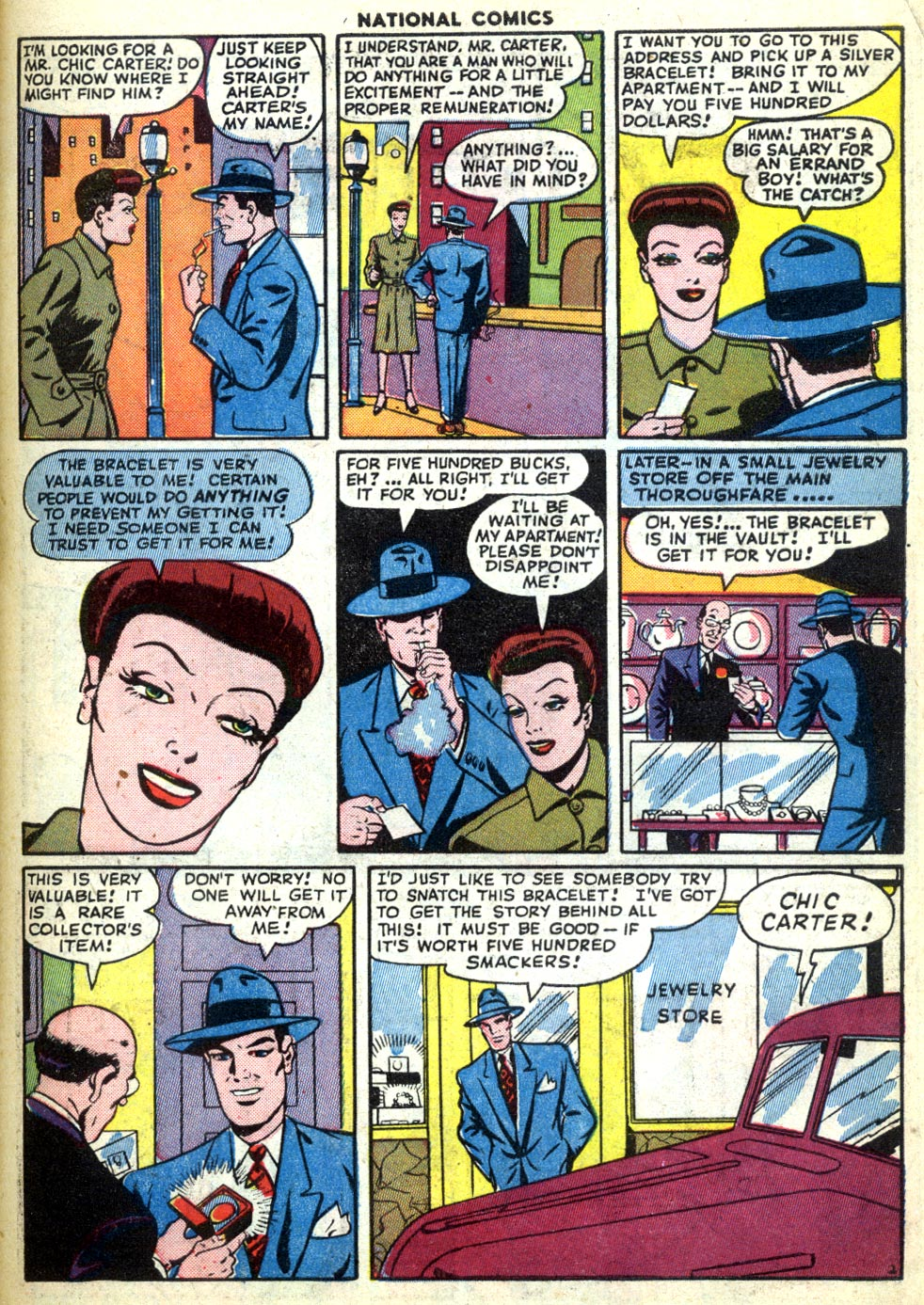 National Comics (1940) issue 47 - Page 47