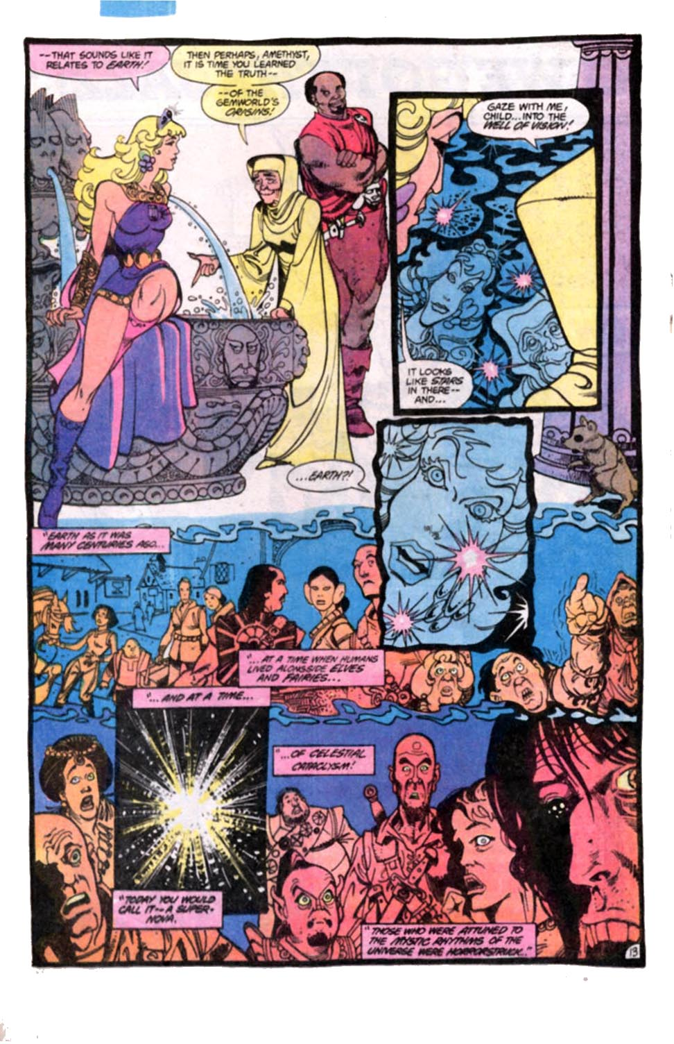 Read online Amethyst, Princess of Gemworld comic -  Issue #8 - 14
