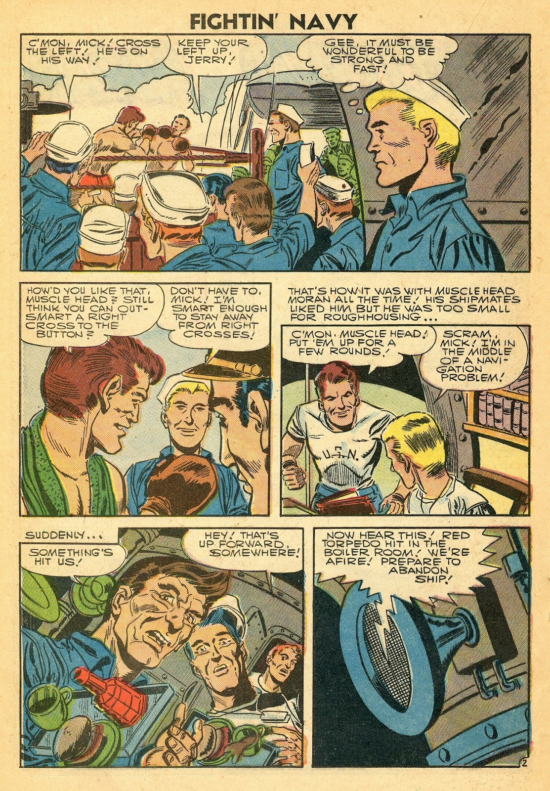 Read online Fightin' Navy comic -  Issue #77 - 20